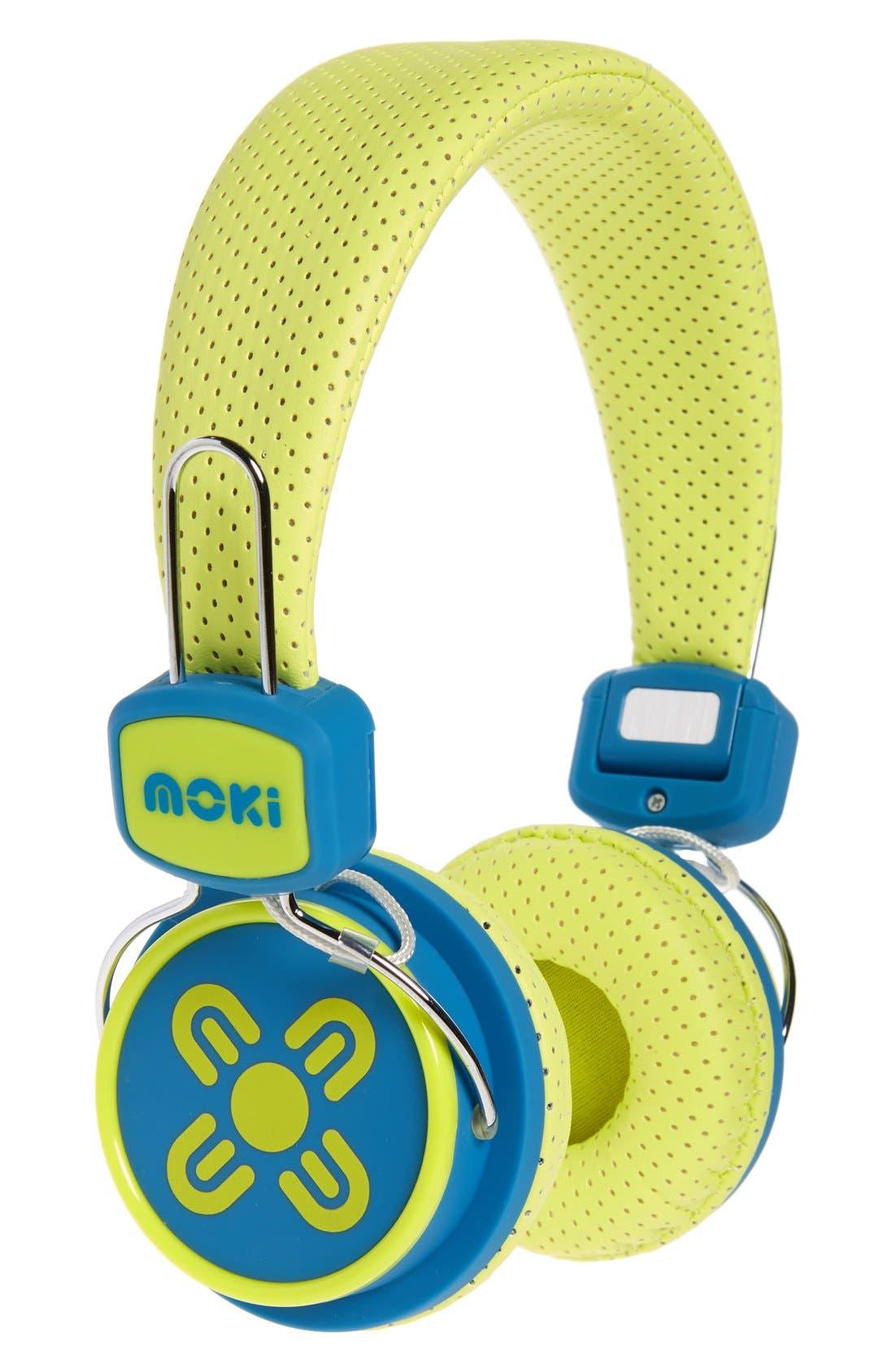 Alternate Image 1 Selected - Moki Volume Limited Headphones (Kids)