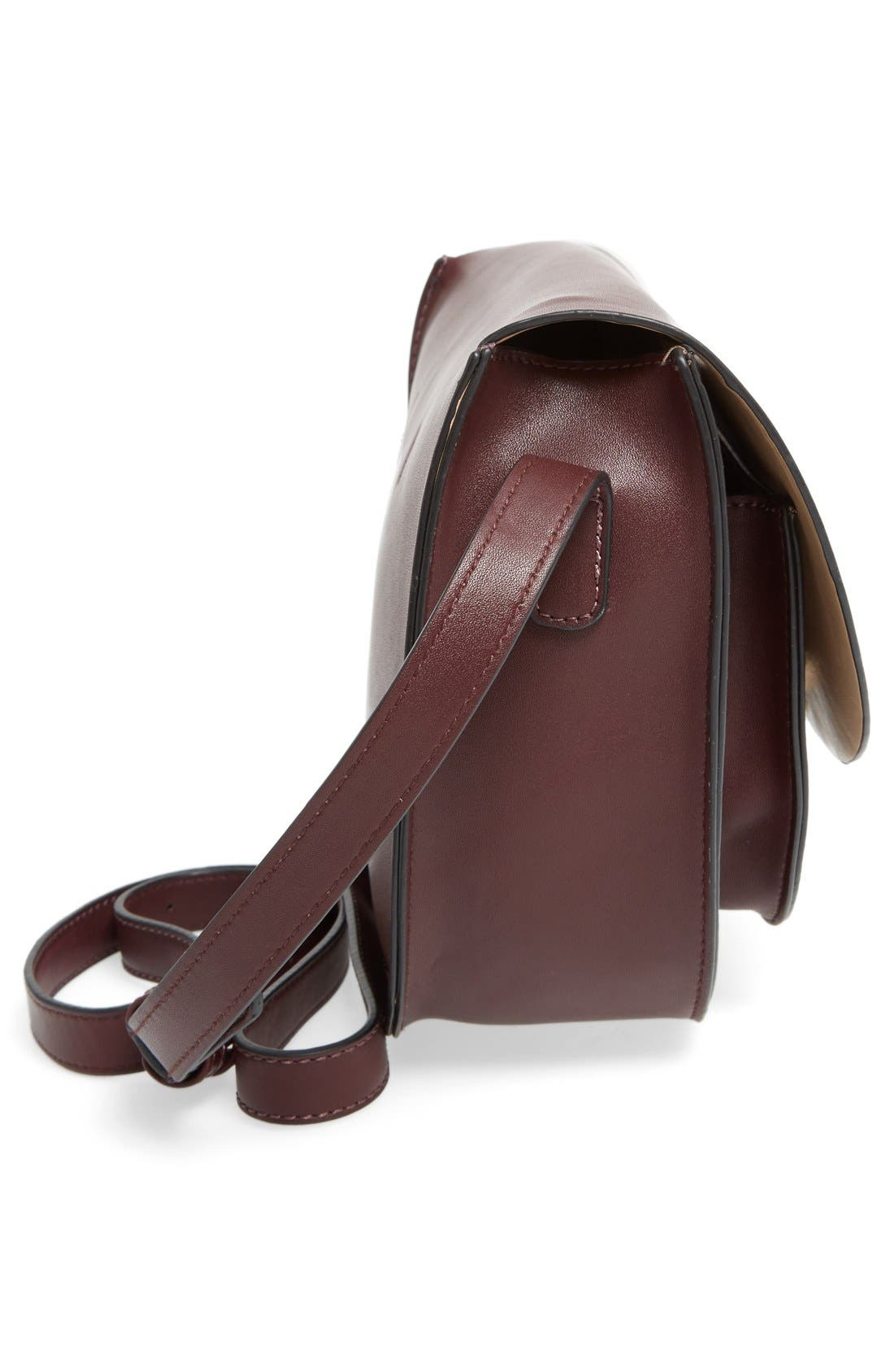 Alternate Image 5  - Sole Society Claire Faux Leather Crossbody Bag