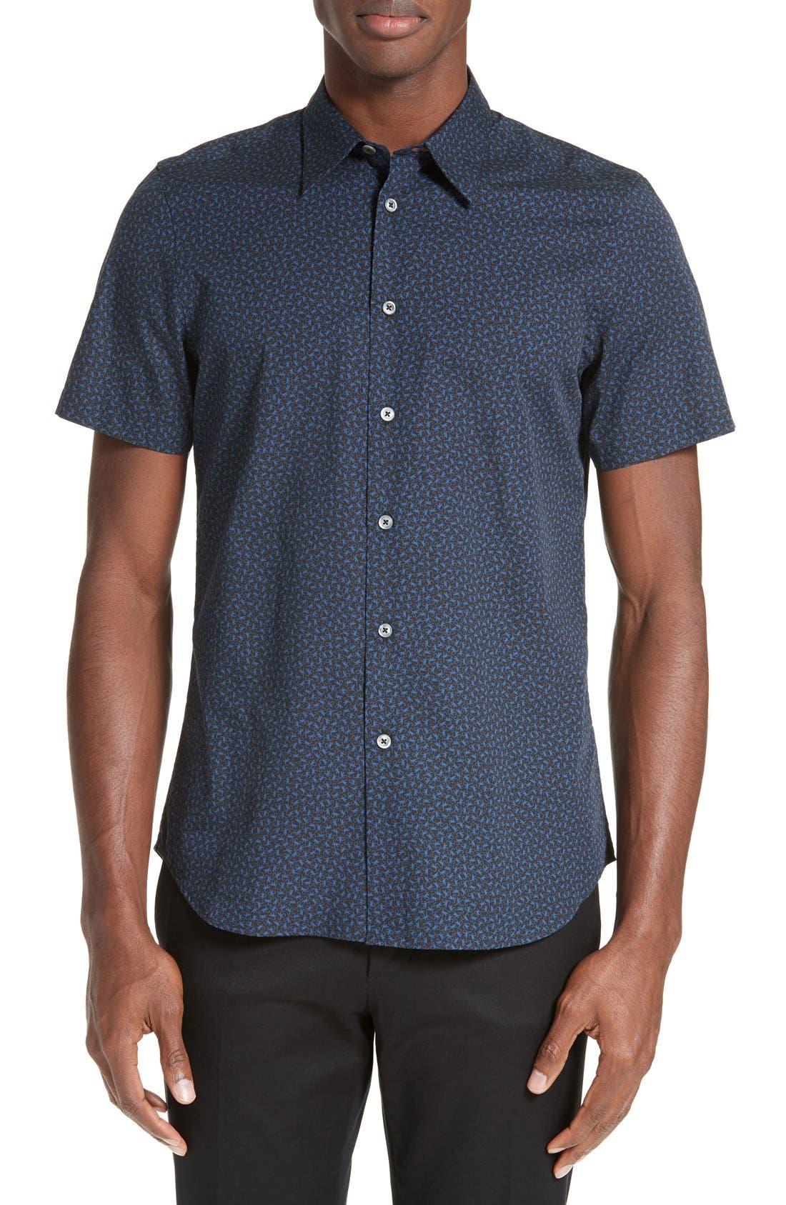 PS Paul Smith Print Sport Shirt