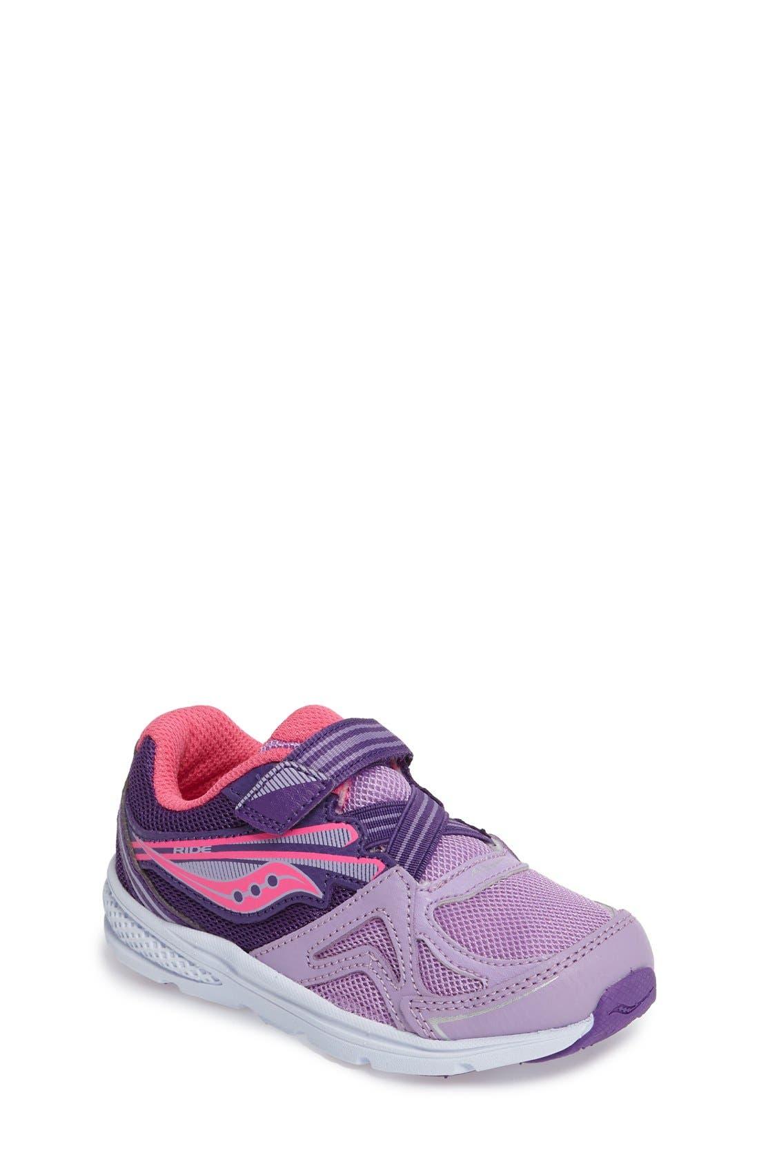 Baby Ride Sneaker,                         Main,                         color, Purple