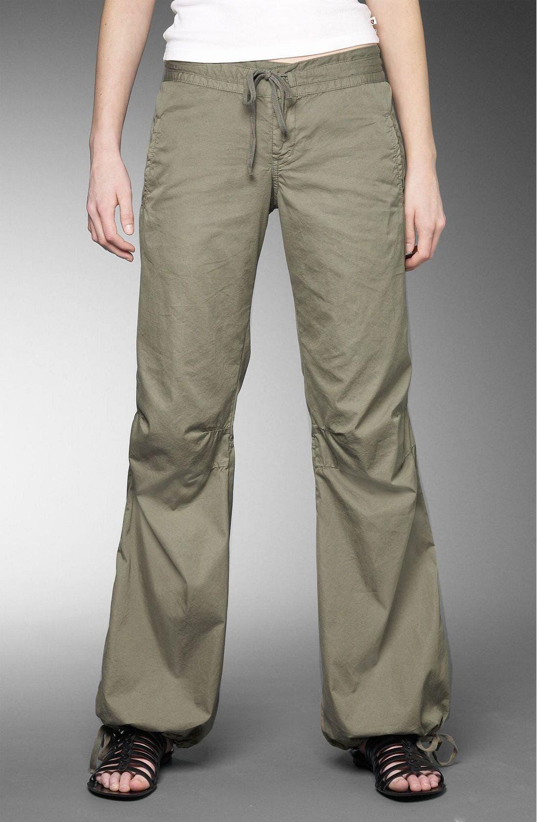 Parachute Pants,                         Main,                         color, Safari