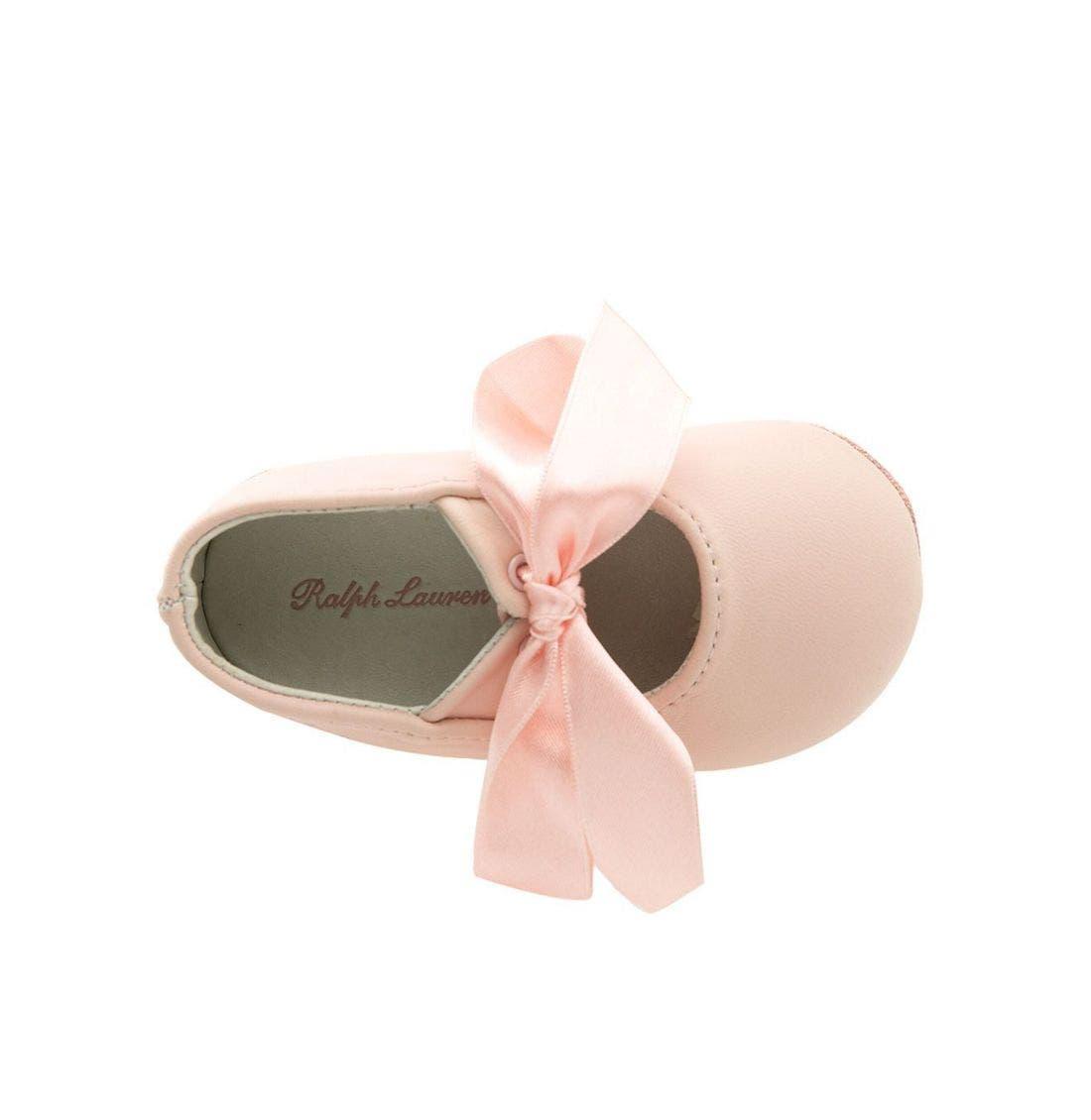 Alternate Image 3  - Ralph Lauren Layette 'Briley' Shoe (Baby)