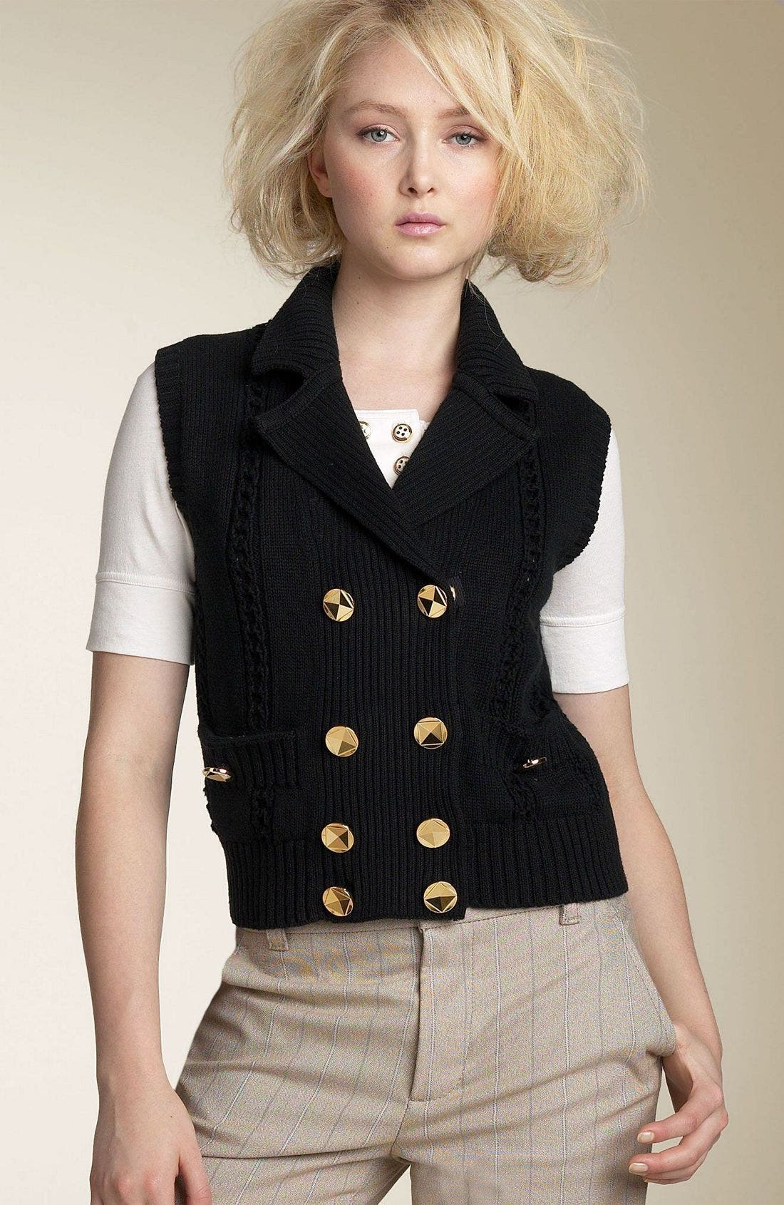 Alternate Image 1 Selected - MARC BY MARC JACOBS 'Gladys' Sweater Vest
