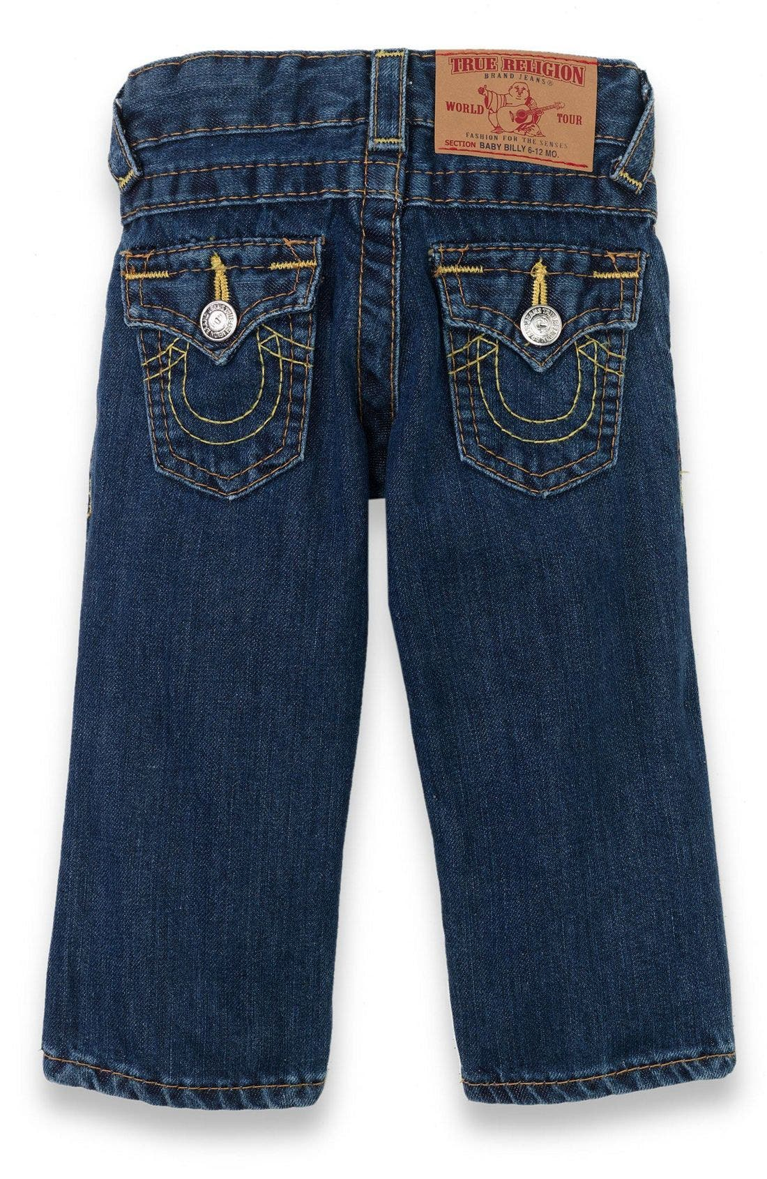 Alternate Image 1 Selected - True Religion Brand Jeans 'Baby Billy' Jeans (Infant)