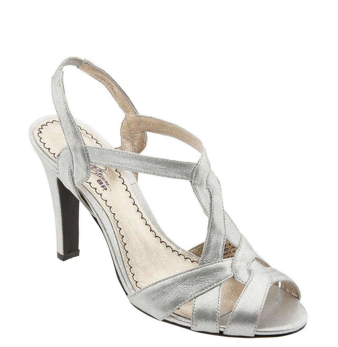 Alternate Image 1 Selected - BP. Platinum 'Empire' Sandal