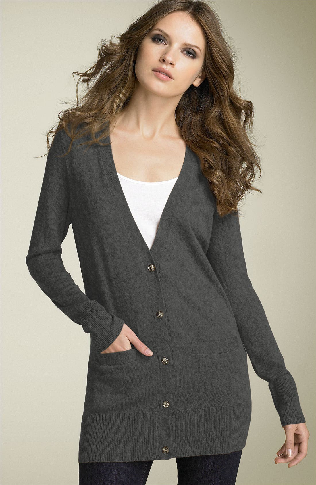 Alternate Image 1 Selected - Joie 'Chasity' Cashmere Blend Cardigan
