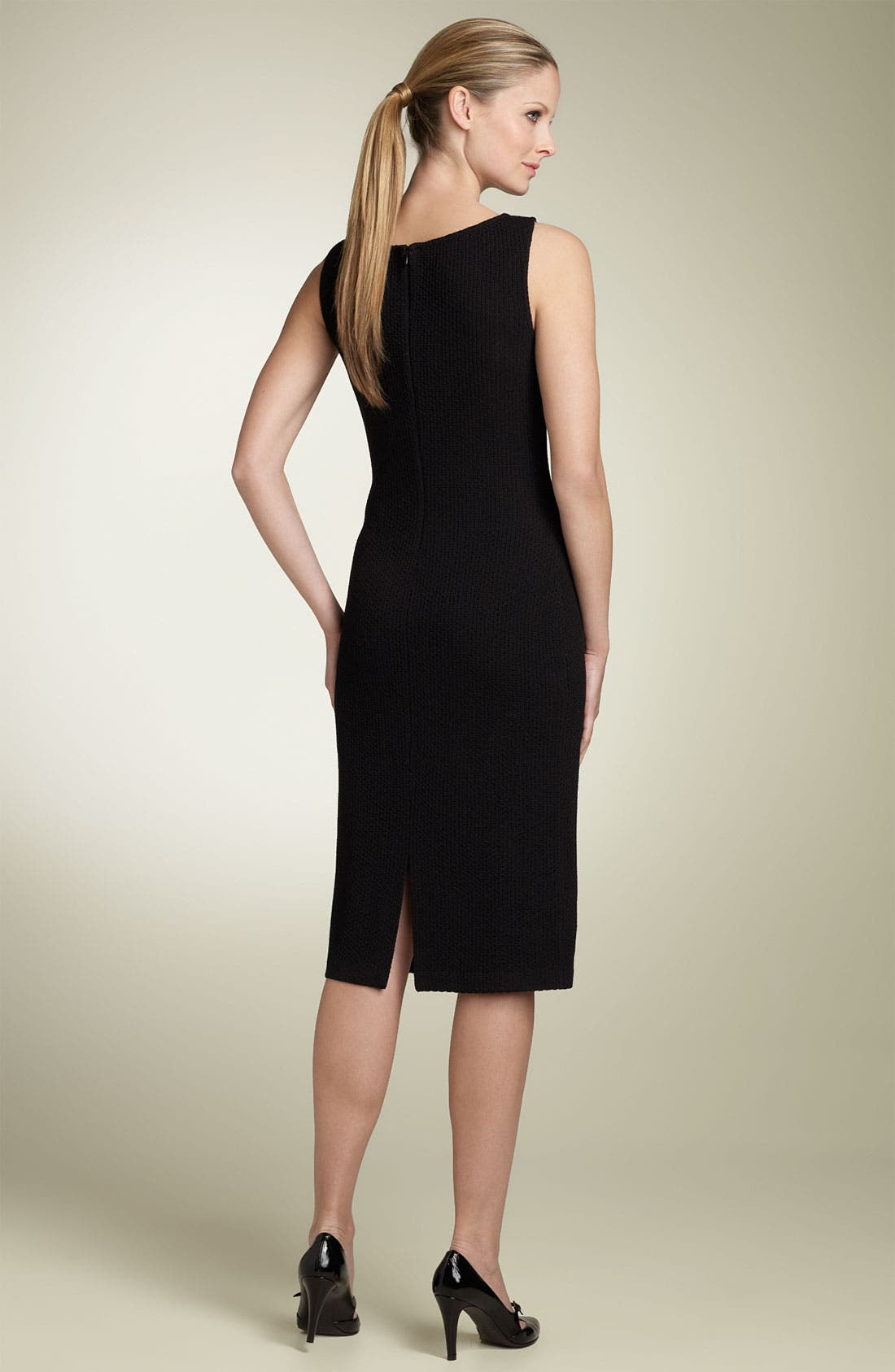 Alternate Image 2  - St. John Collection Caviar Knit Dress