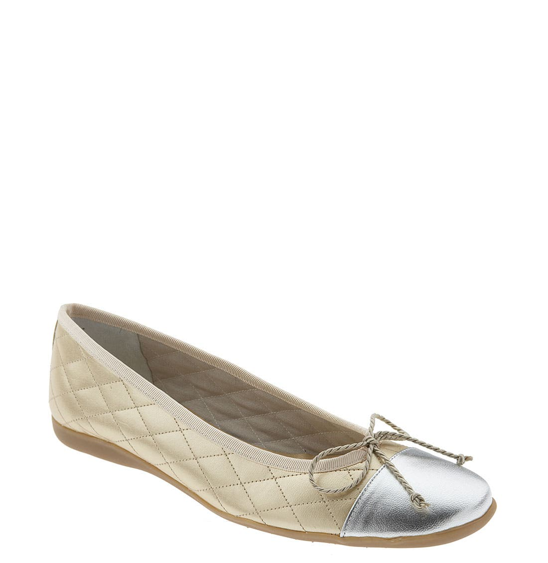 Alternate Image 1 Selected - French Sole 'Passport' Flat