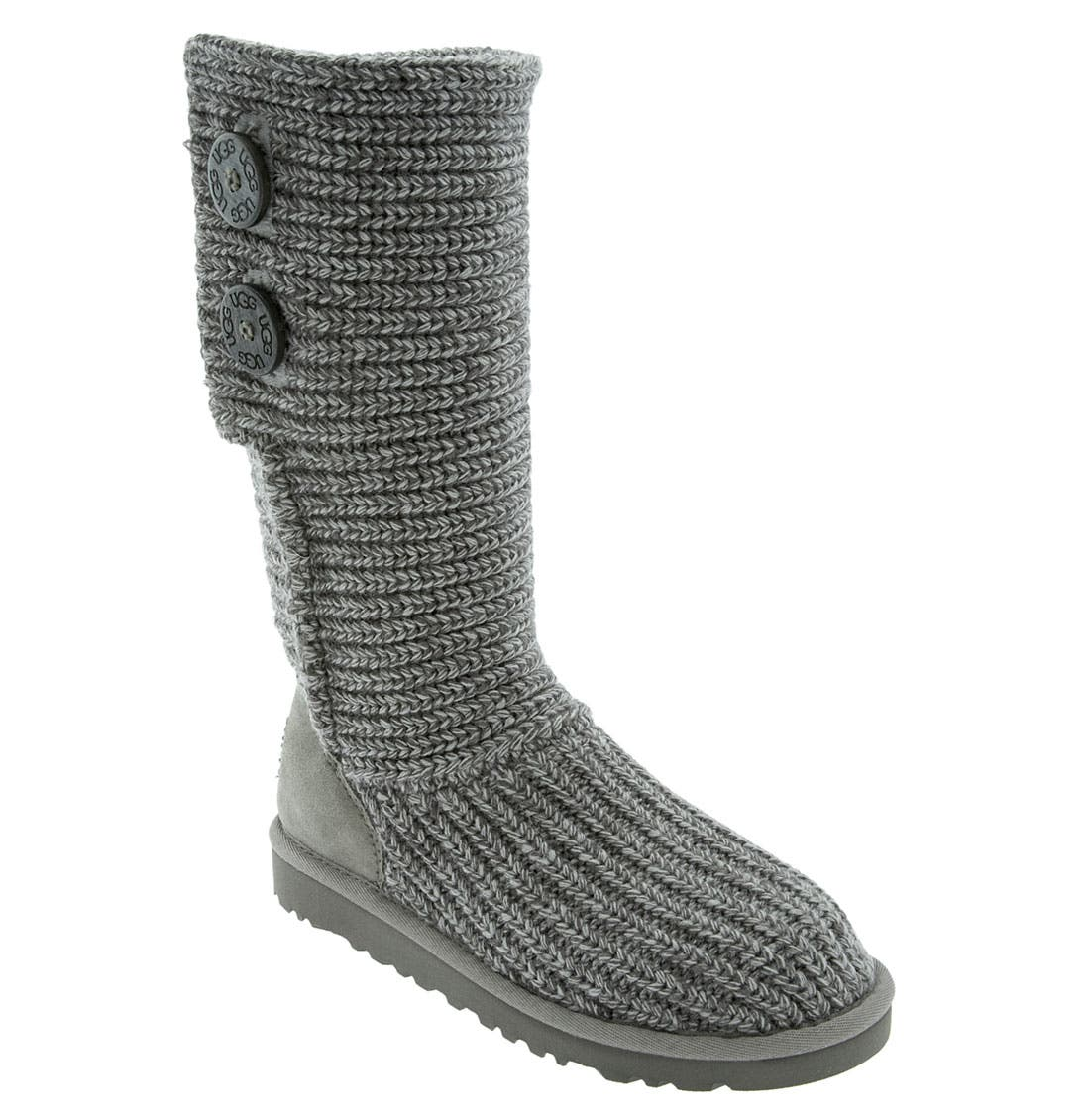 Alternate Image 1 Selected - UGG® 'Cardy' Crochet Boot (Toddler, Little Kid & Big Kid)