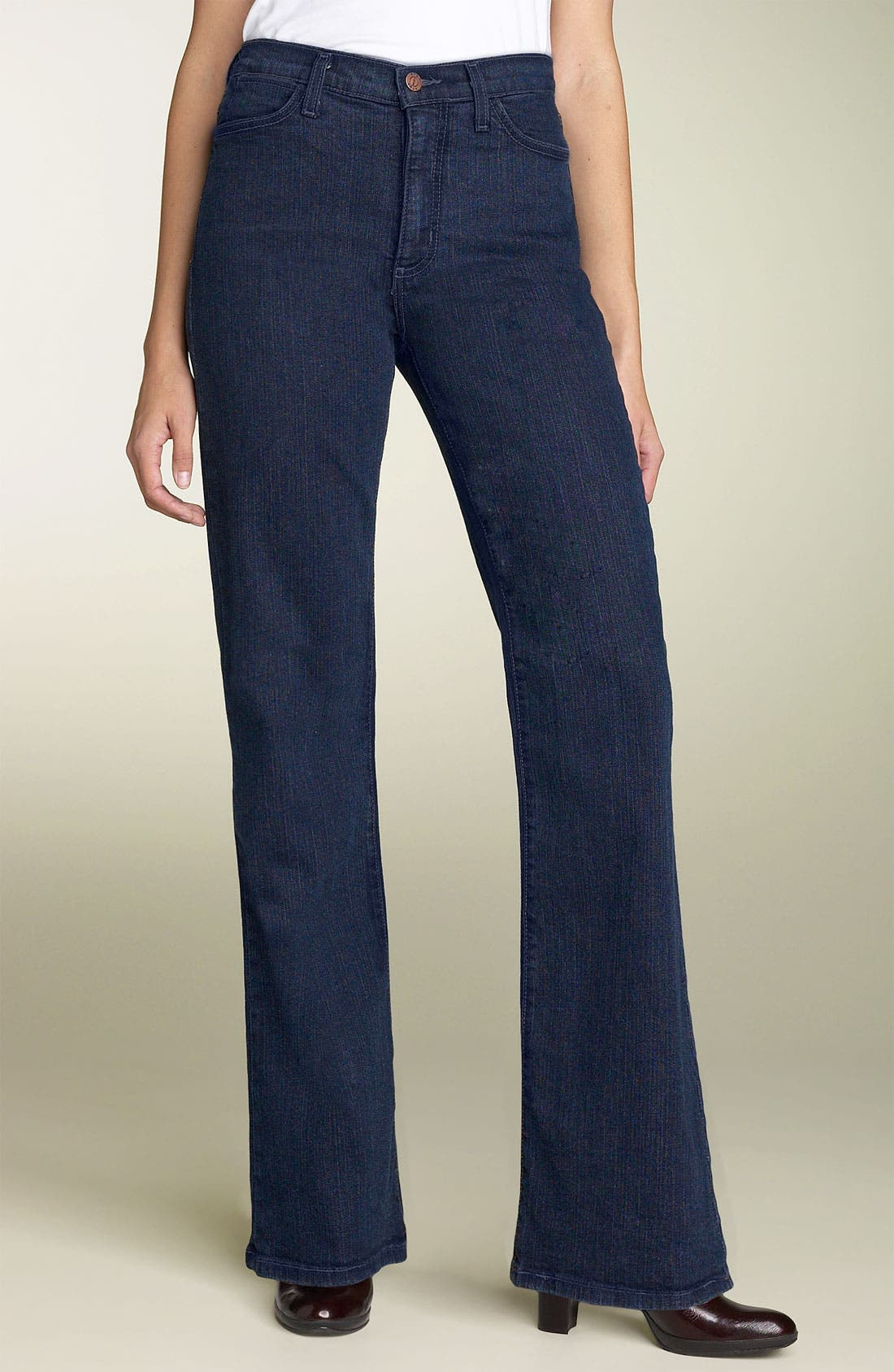 Alternate Image 1 Selected - NYDJ Bootcut Stretch Jeans (Long)