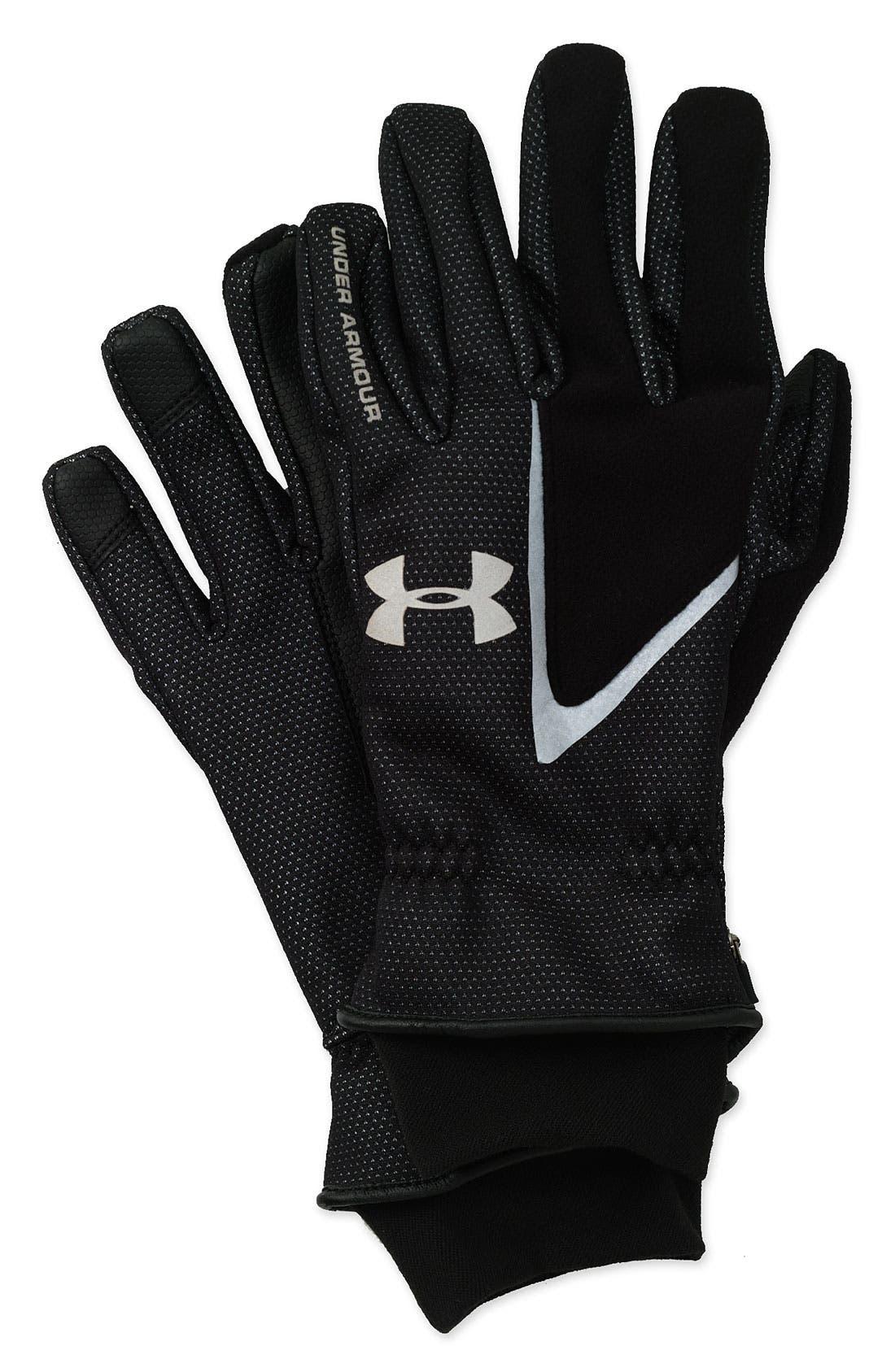 Alternate Image 1 Selected - Under Armour Key Pocket ColdGear® Gloves