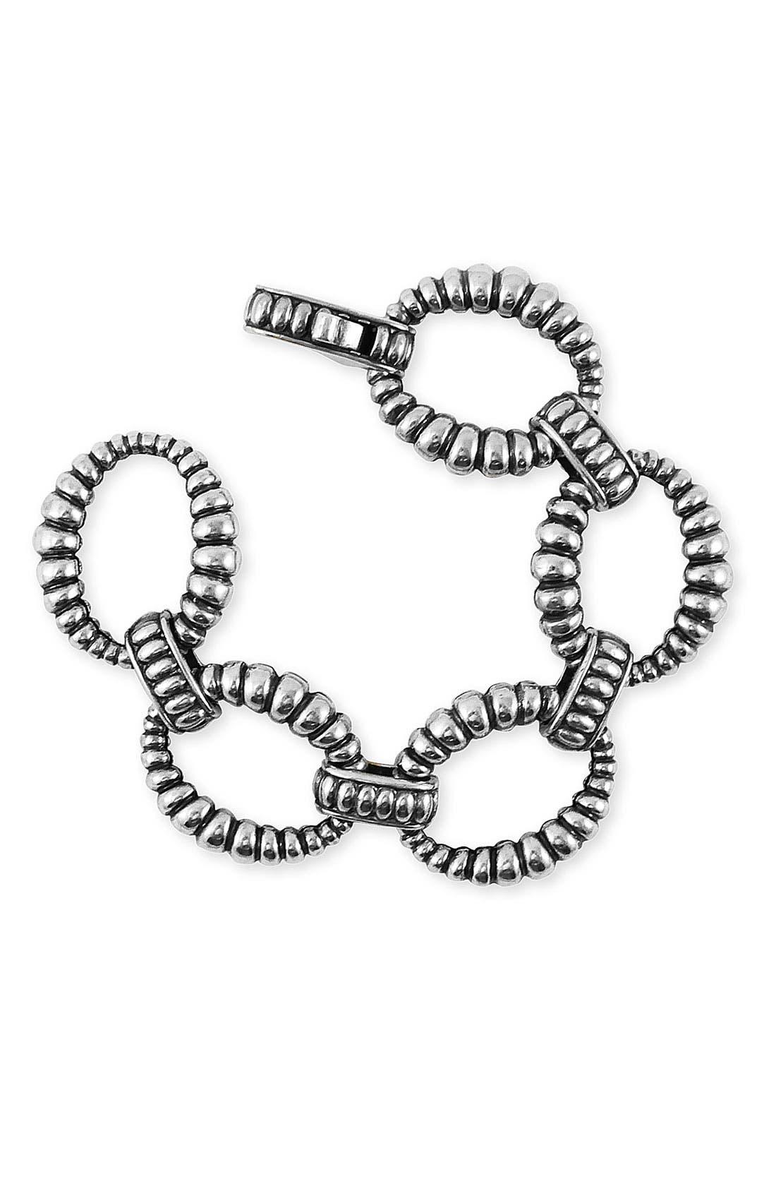 LAGOS Large Fluted Link Bracelet