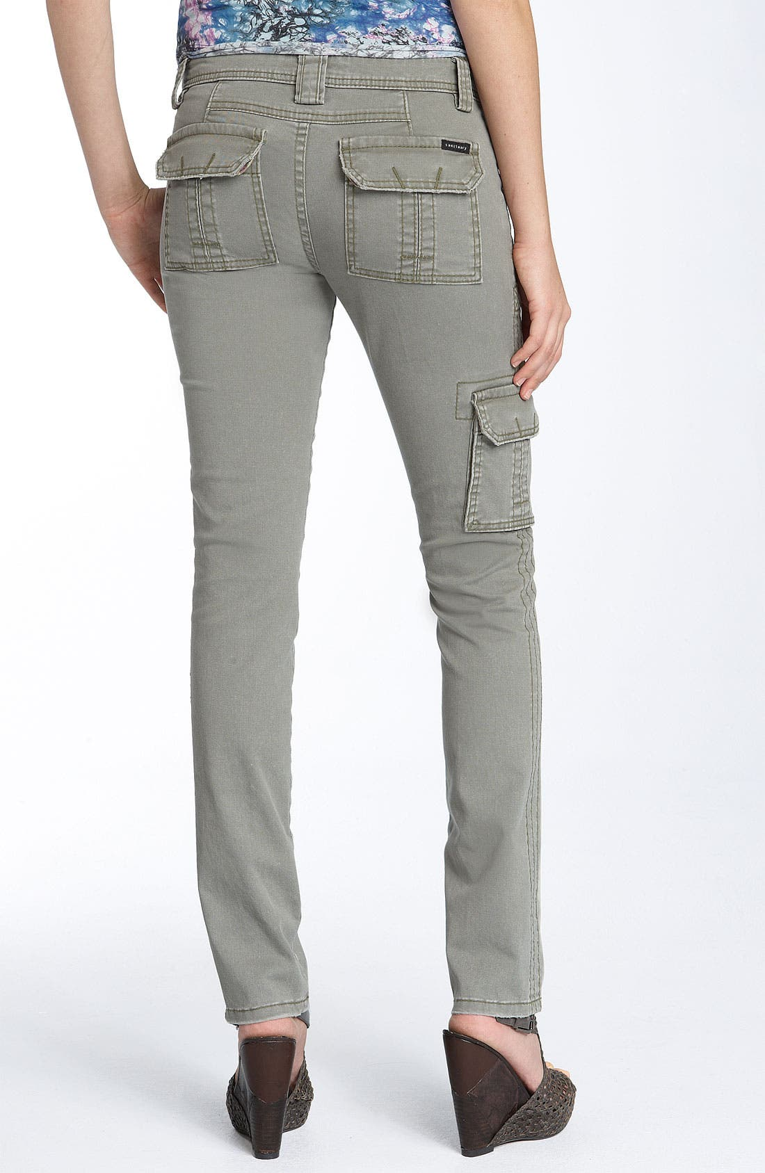 Alternate Image 1 Selected - Sanctuary 'People' Skinny Stretch Twill Pants