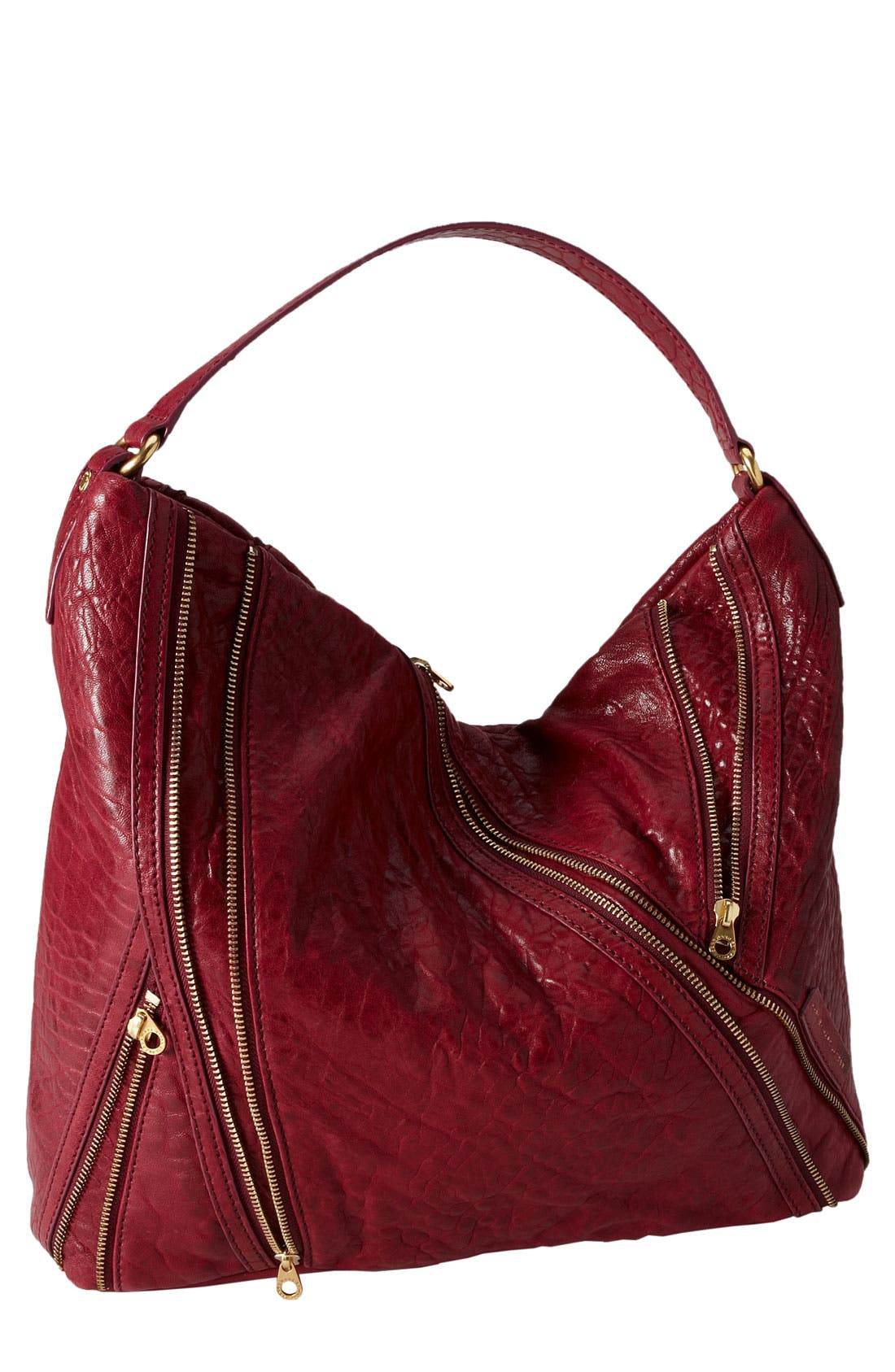 Alternate Image 1 Selected - MARC BY MARC JACOBS 'Flash - Leola' Leather Hobo
