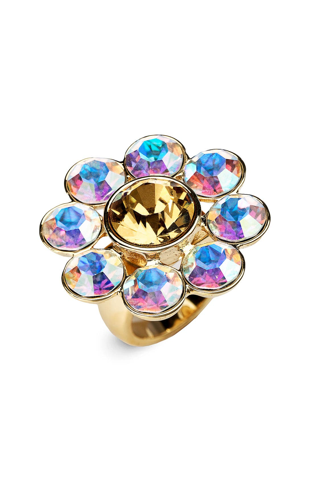 Alternate Image 1 Selected - kate spade new york 'trellis' crystal ring