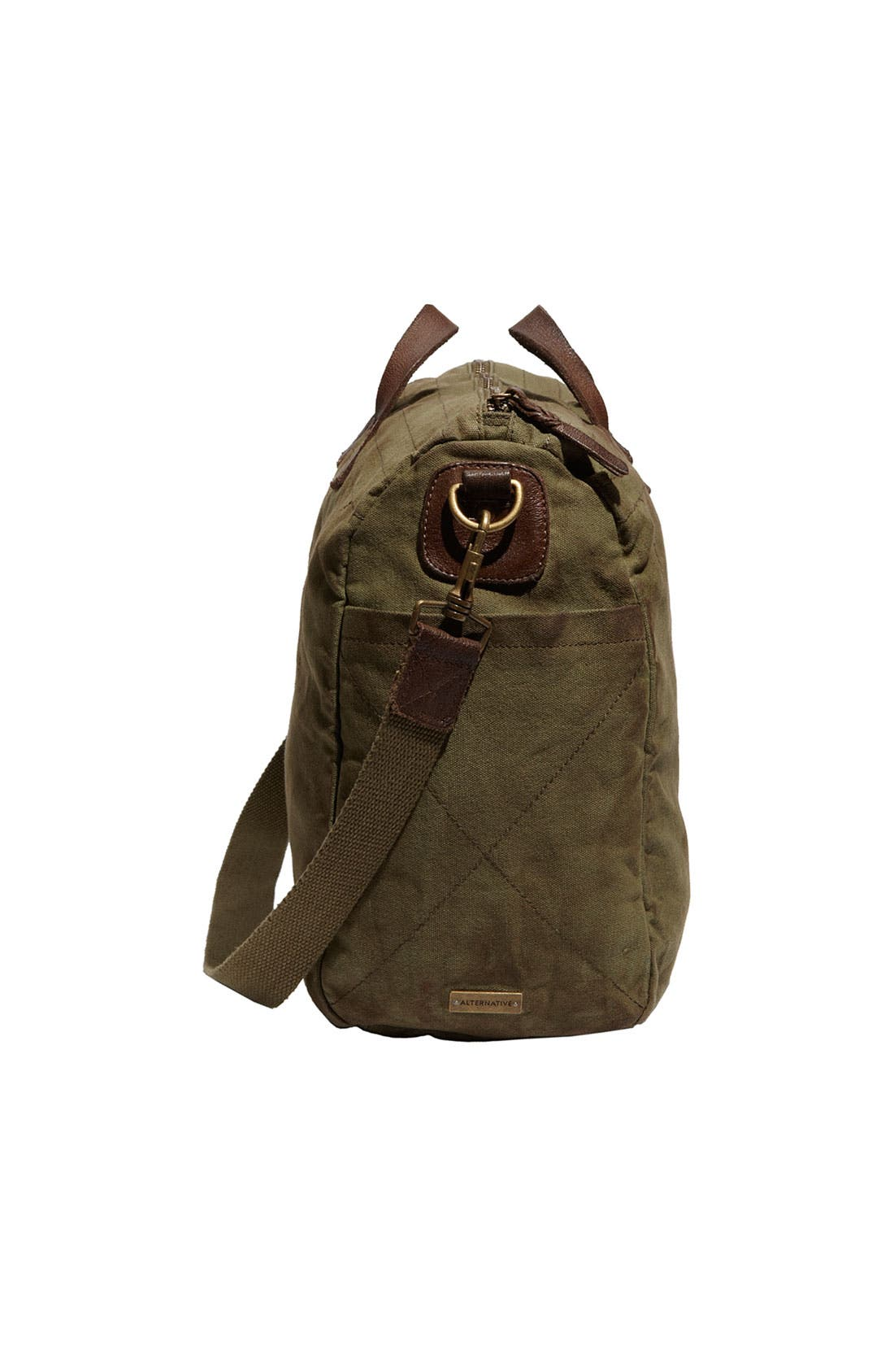 Canvas Bag,                             Alternate thumbnail 3, color,                             Army