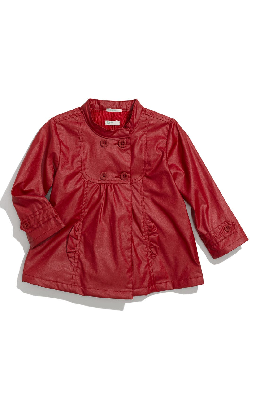 Alternate Image 1 Selected - United Colors of Benetton Kids Raincoat (Infant)