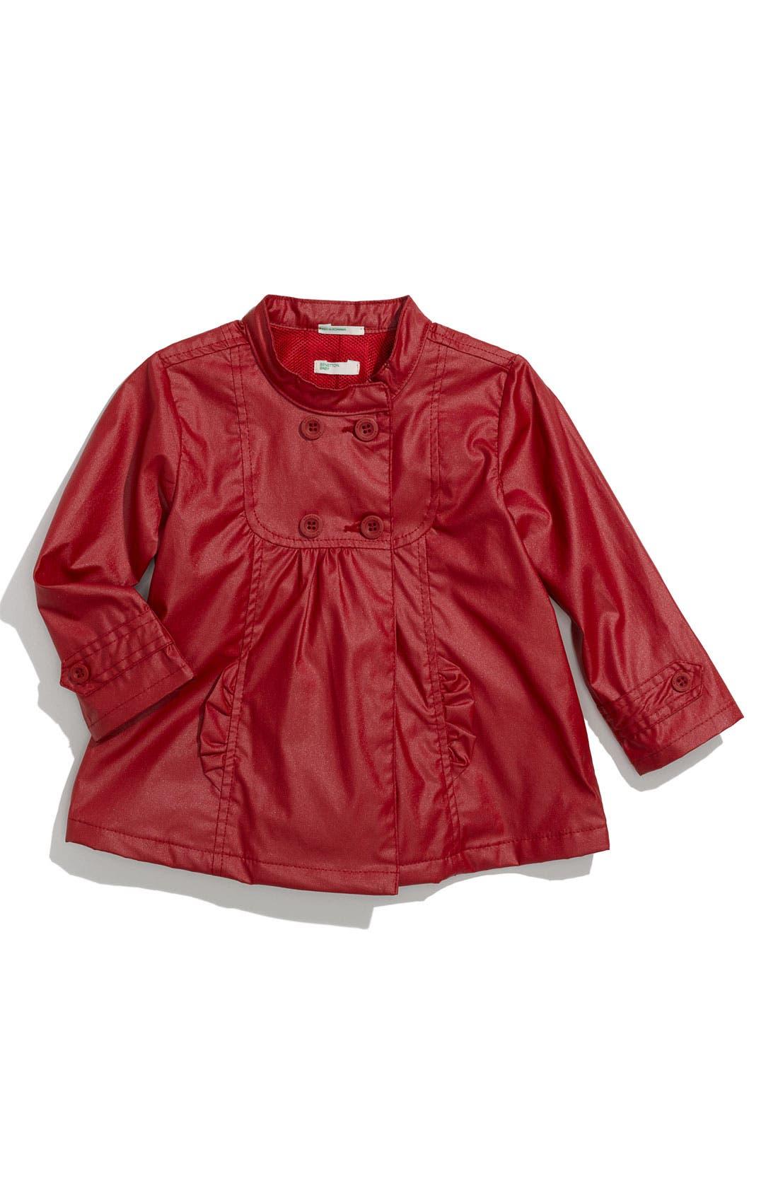 Main Image - United Colors of Benetton Kids Raincoat (Infant)