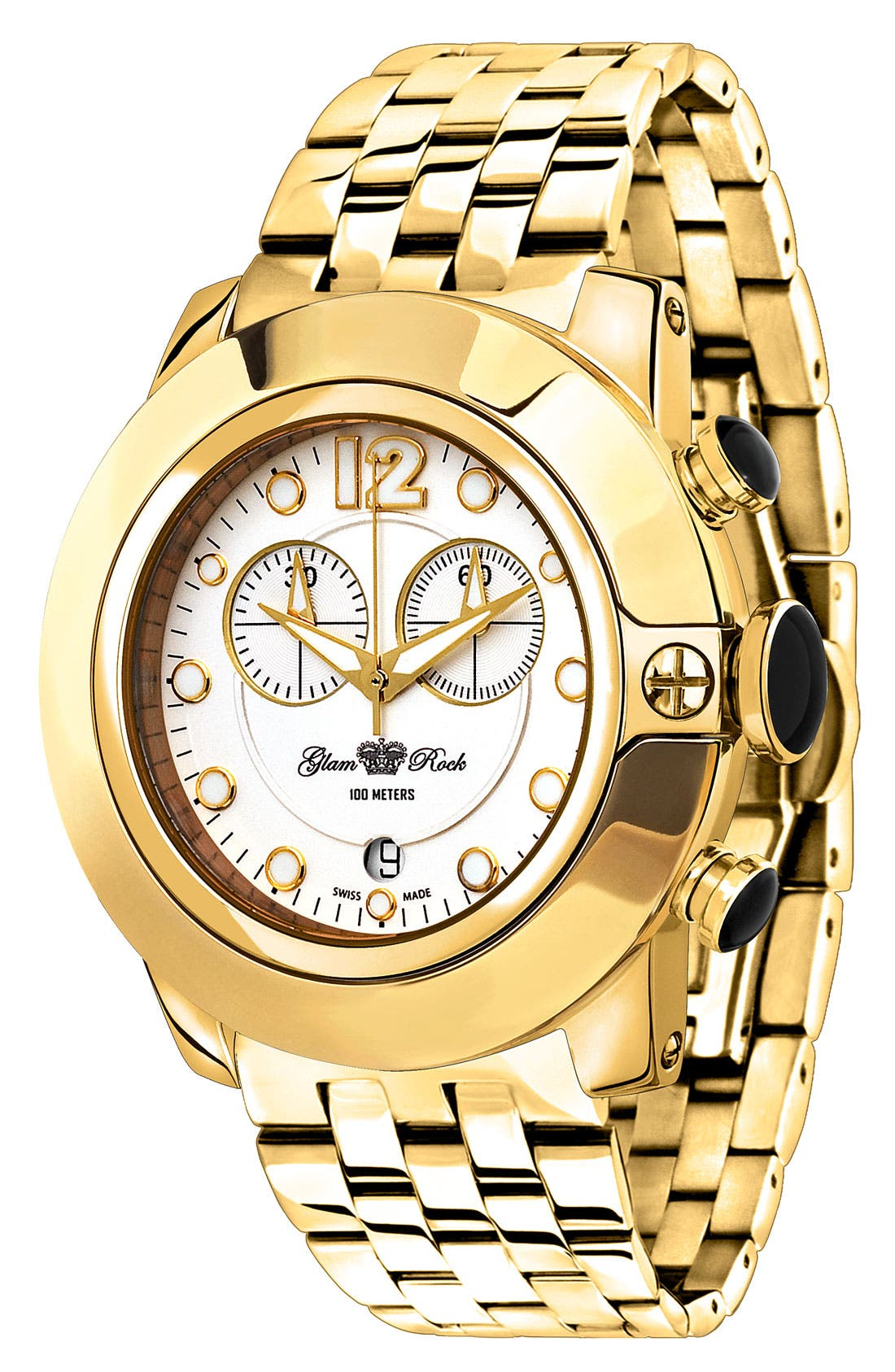 Main Image - Glam Rock 'So Be Mood' Bracelet Watch