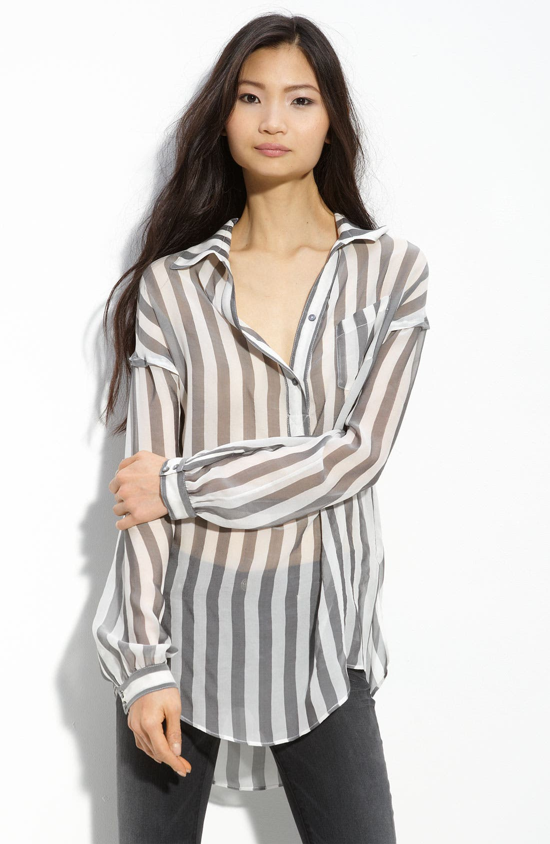 Alternate Image 1 Selected - Diane von Furstenberg Chiffon Blouse
