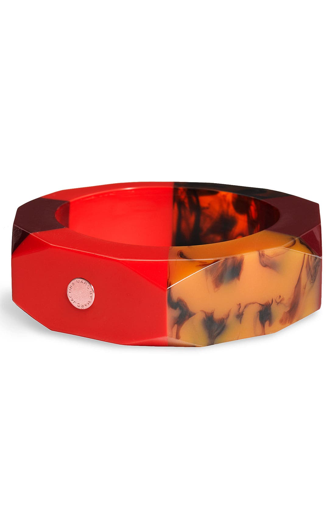 Alternate Image 1 Selected - MARC BY MARC JACOBS 'High Tide Colorblock' Large Bangle