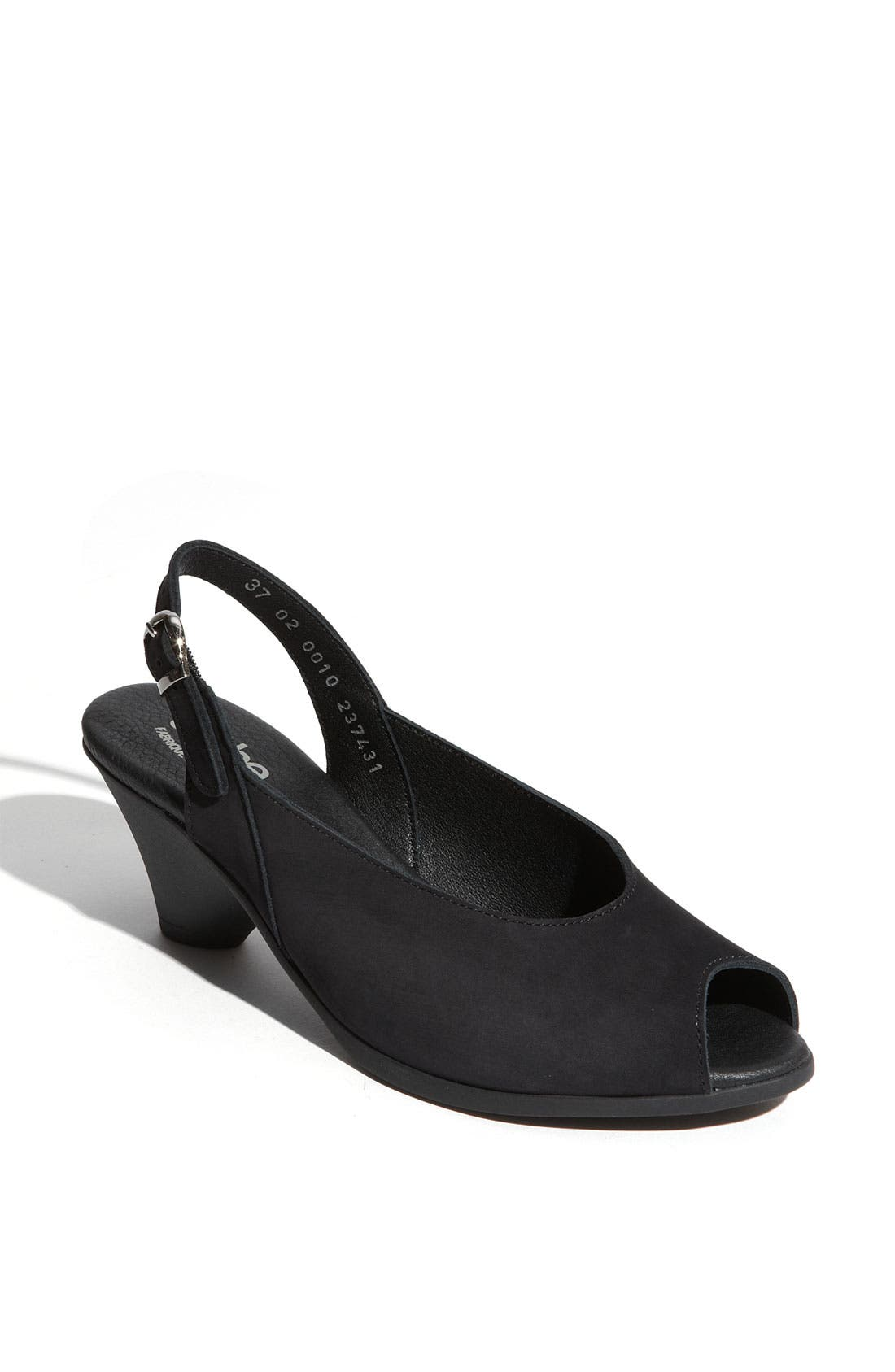 Alternate Image 1 Selected - Arche 'Exilo' Peep Toe Slingback