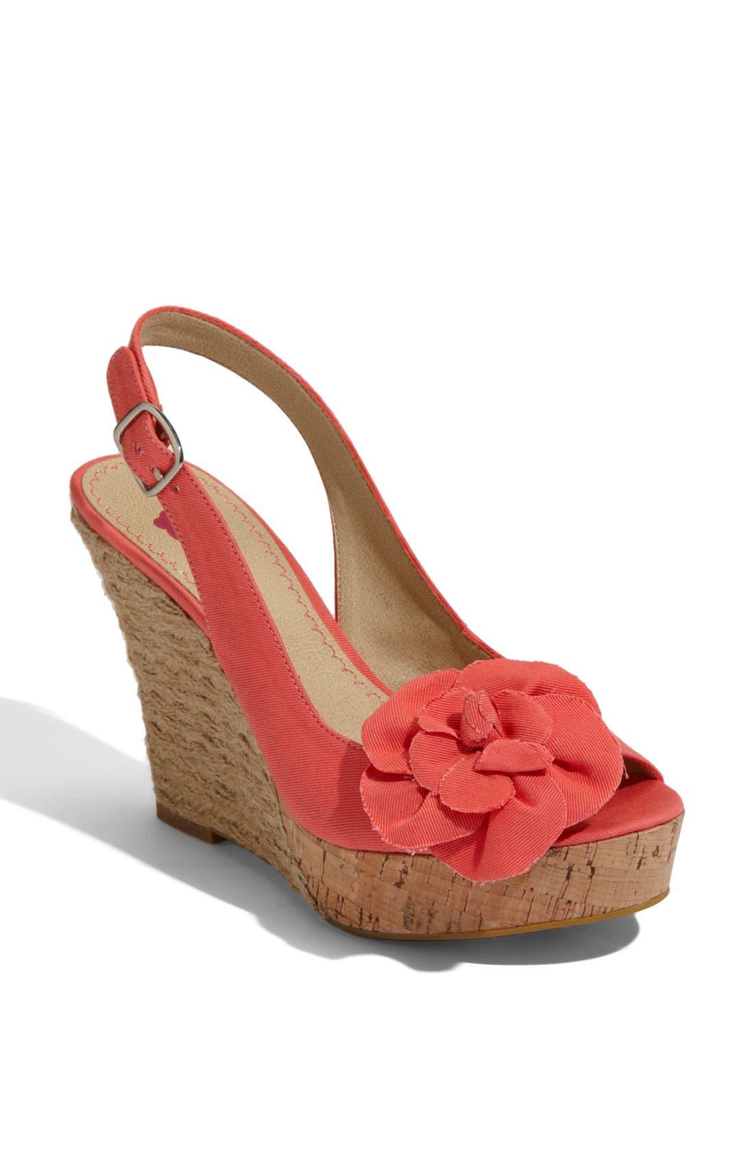 Alternate Image 1 Selected - BP. 'Blooms' Espadrille Slingback Sandal