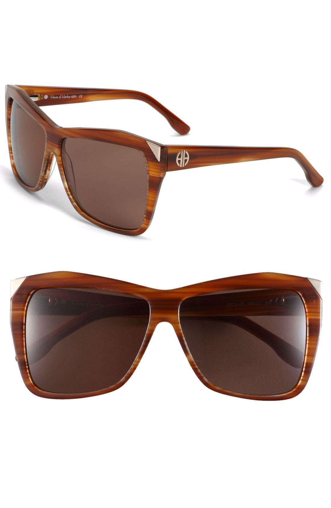 Main Image - House of Harlow 1960 'Marie' Sunglasses