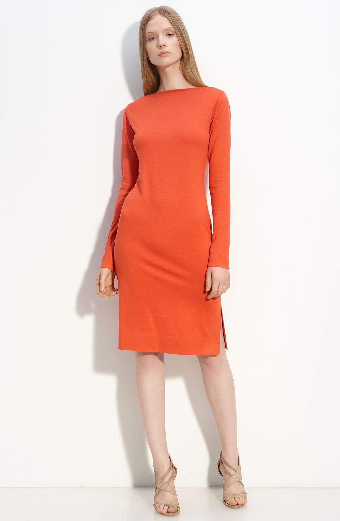 Main Image - Diane von Furstenberg Bateau Neck Knit Dress