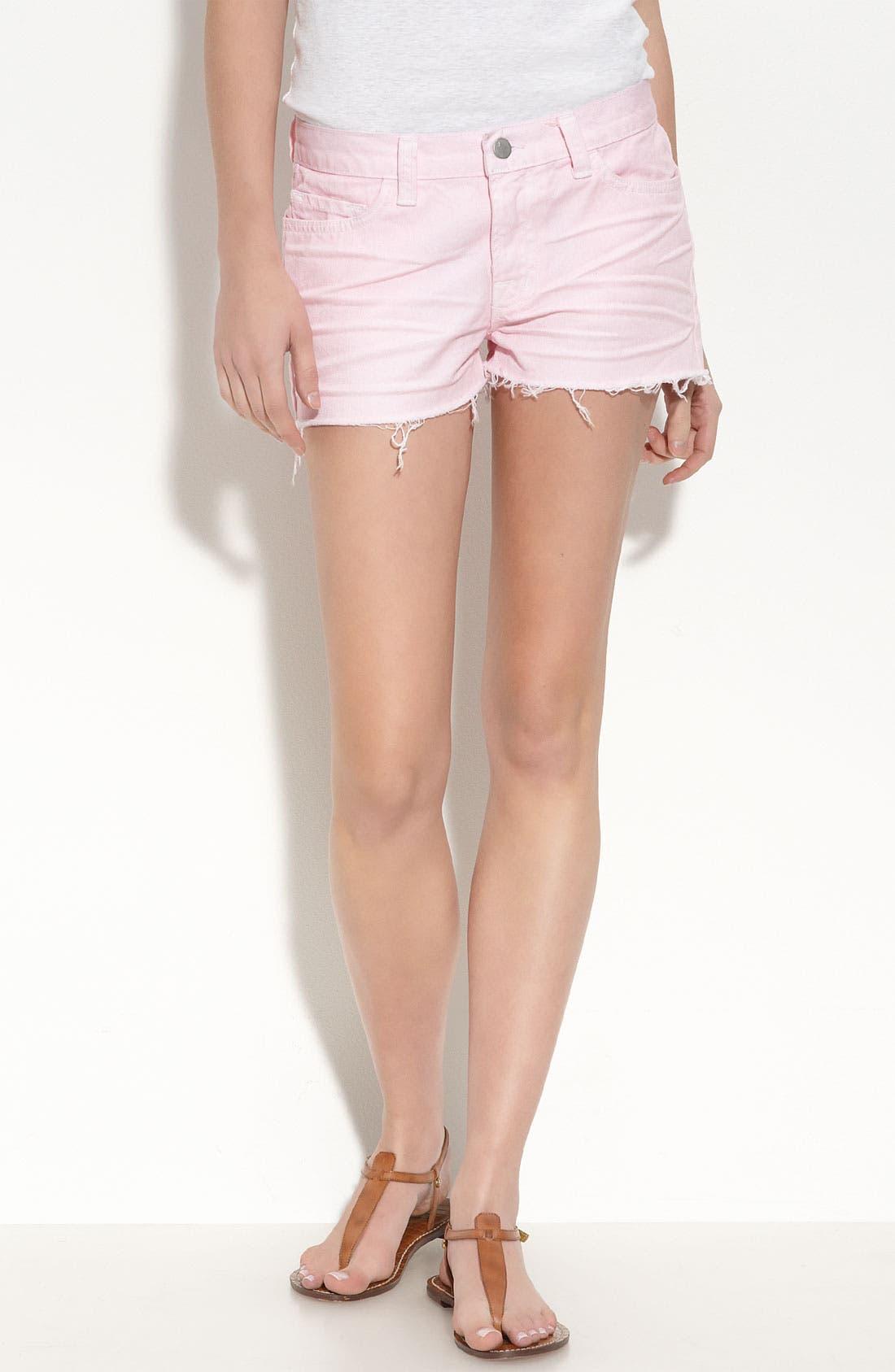 Alternate Image 1 Selected - J Brand Cutoff Denim Shorts