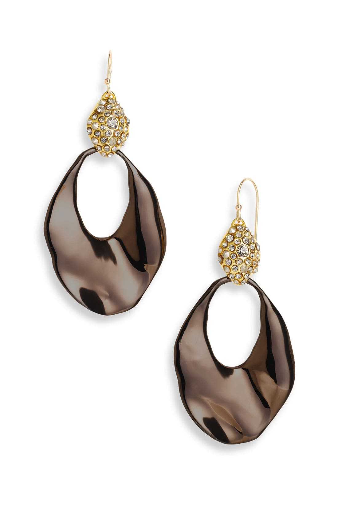 Main Image - Alexis Bittar 'Miss Havisham' Wavy Crystal Drop Earrings (Nordstrom Exclusive)