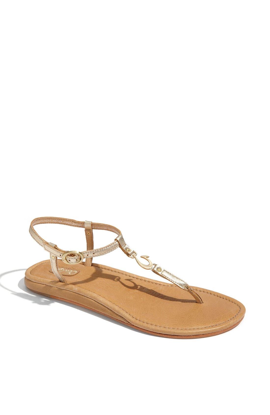 Main Image - OluKai 'Olu'Olu' Thong Sandal