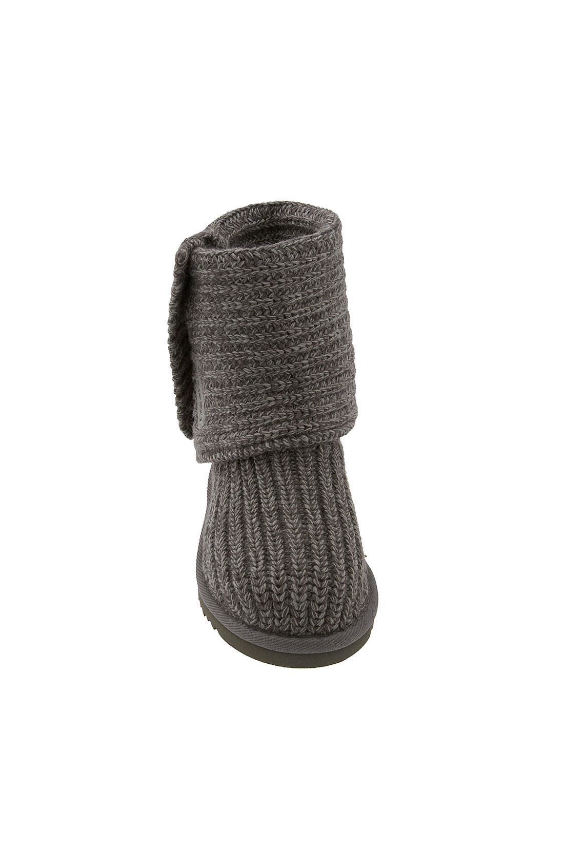 Alternate Image 4  - UGG® 'Cardy' Crochet Boot (Toddler, Little Kid & Big Kid)