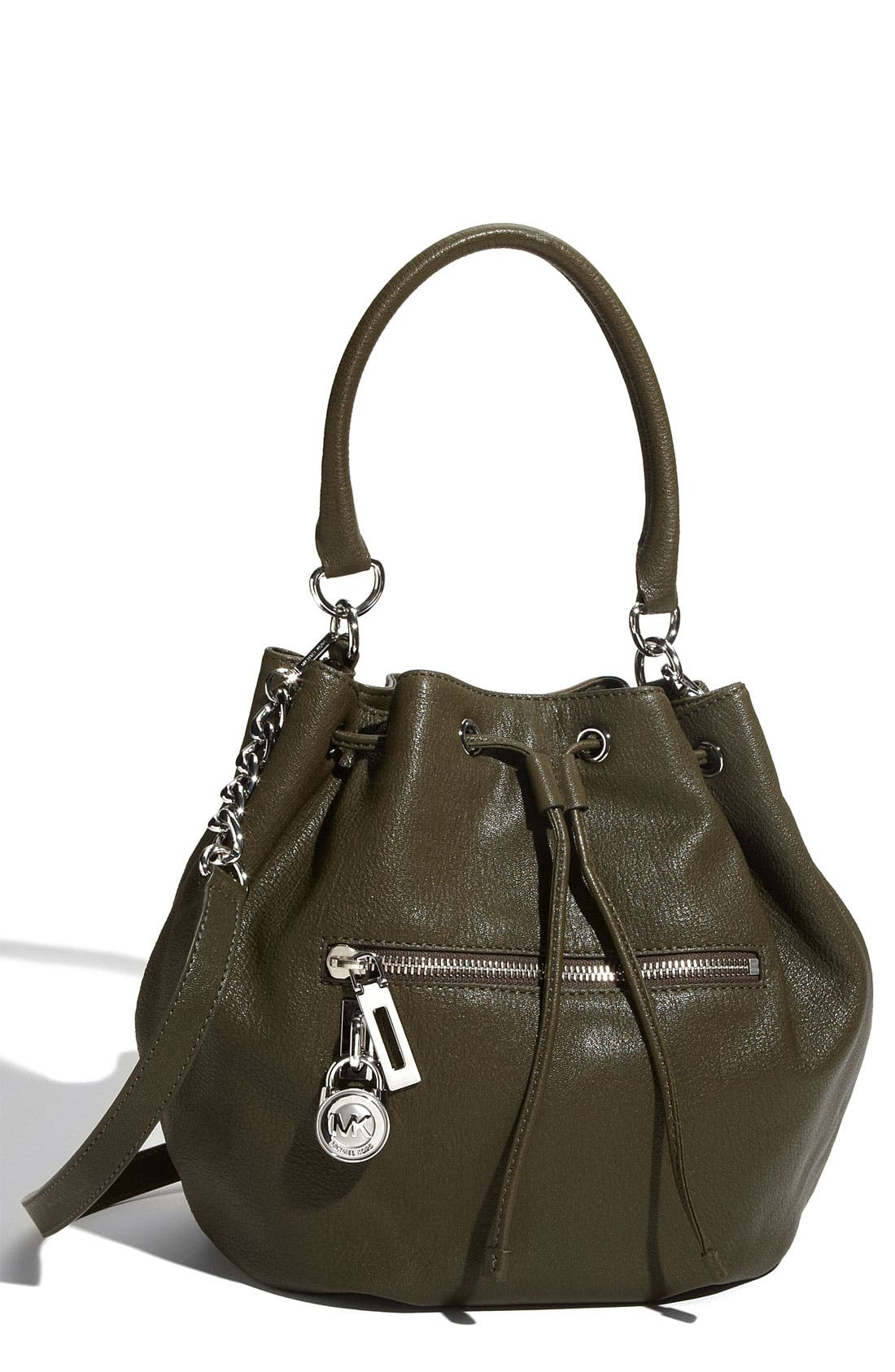 Alternate Image 1 Selected - MICHAEL Michael Kors 'Knox - Large' Drawstring Shoulder Bag