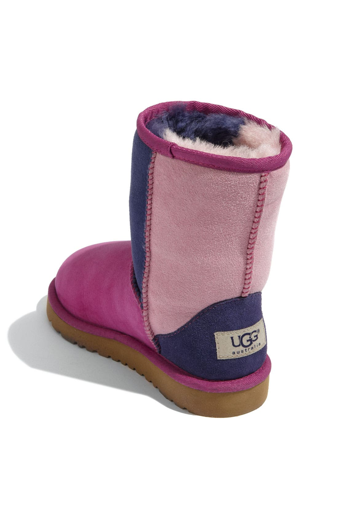 Alternate Image 2  - UGG® 'Classic Short - Patchwork' Boot (Walker)