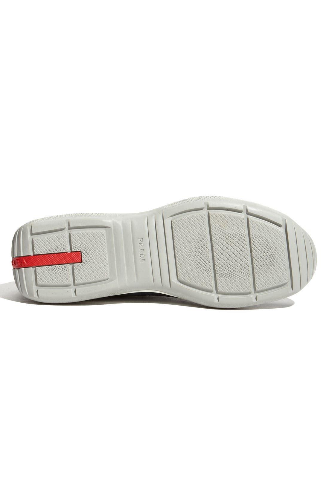 Alternate Image 3  - Prada 'Eagle' Lace-Up Sneaker (Men)
