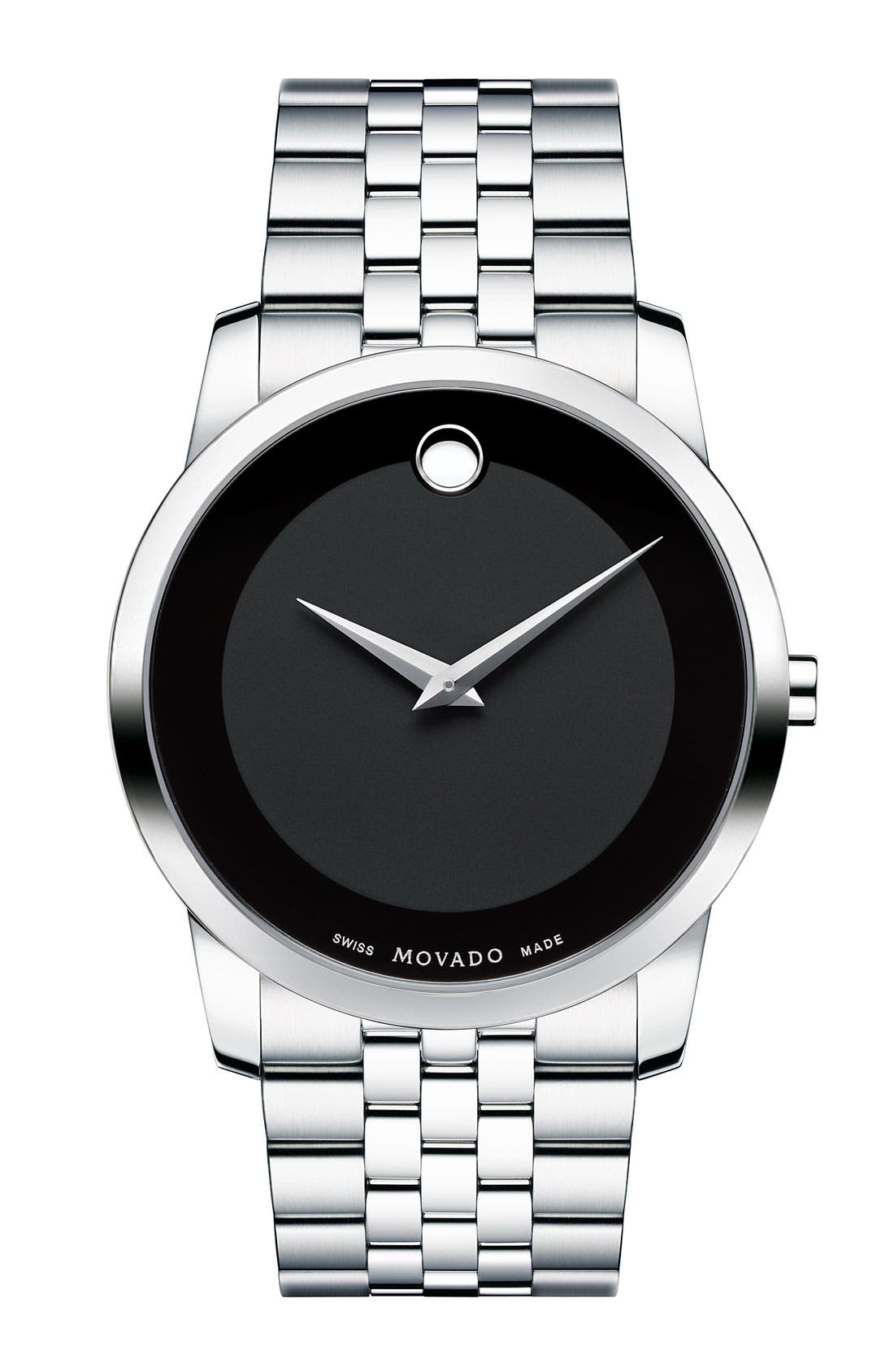 Main Image - Movado 'Museum' Bracelet Watch, 40mm