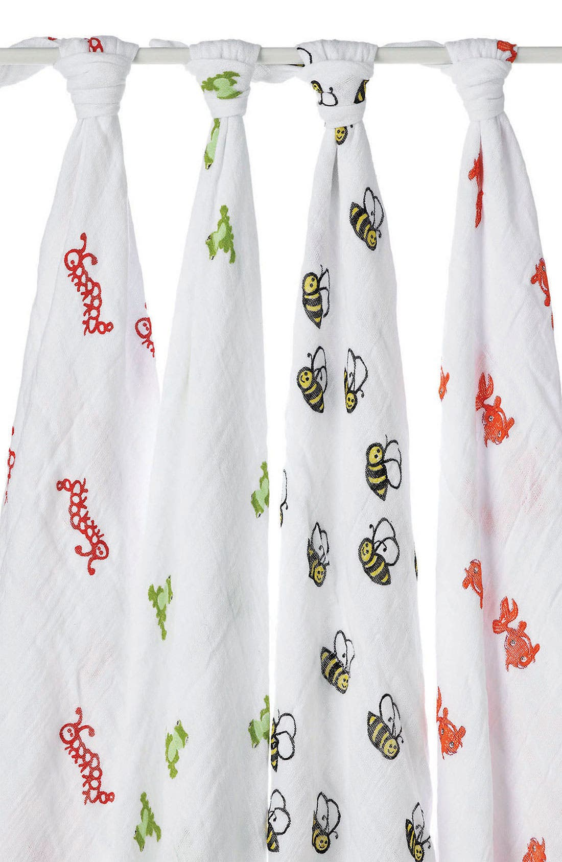 Main Image - aden + anais Set of 4 Classic Swaddling Cloths