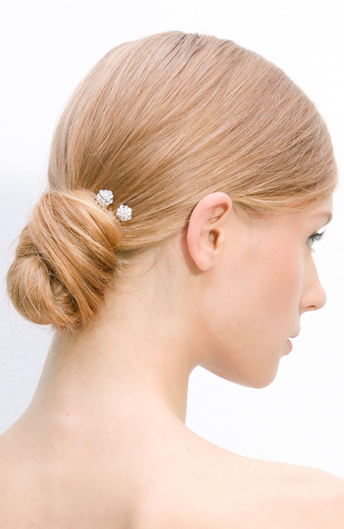 Alternate Image 1 Selected - Tasha Crystal Hair Picks (Set of 2)
