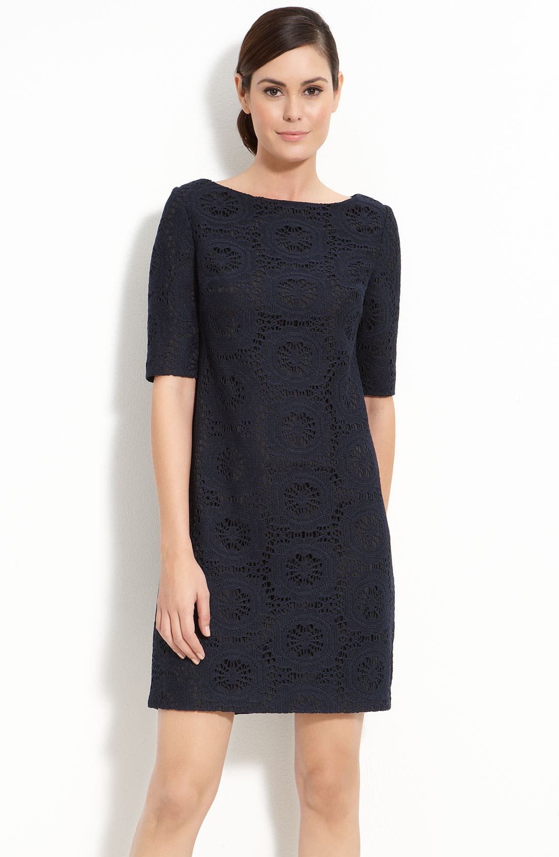 Alternate Image 1 Selected - Adrianna Papell Lace Shift Dress
