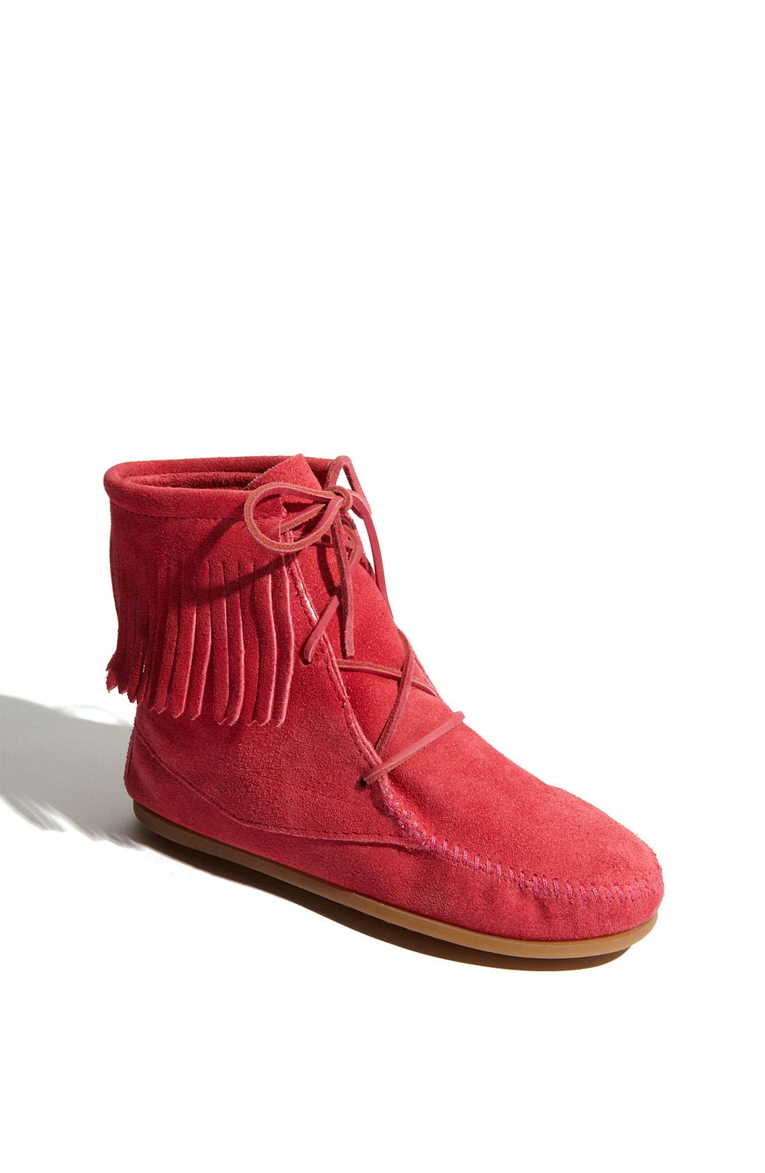 Main Image - Minnetonka Lace-Up Boot (Walker, Toddler & Little Kid)