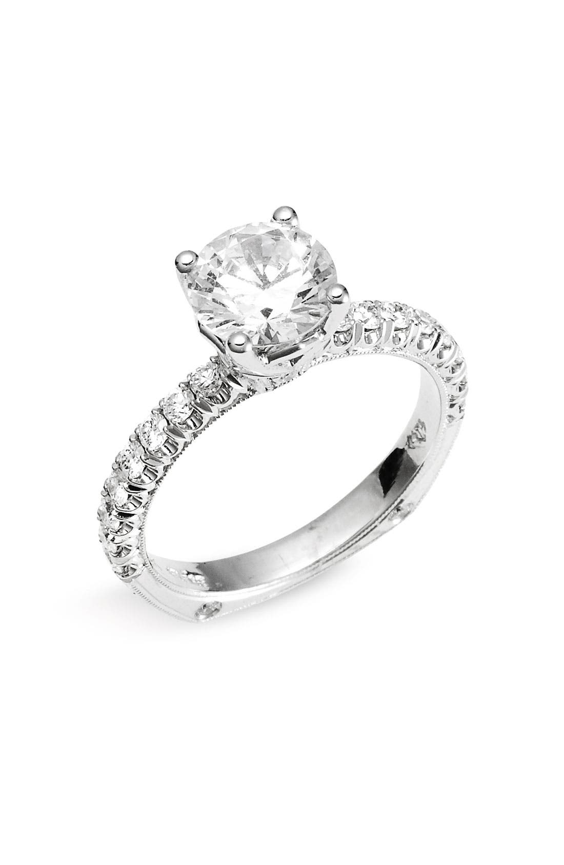 Alternate Image 1 Selected - Jack Kelége 'Romance' Diamond Engagement Ring Setting