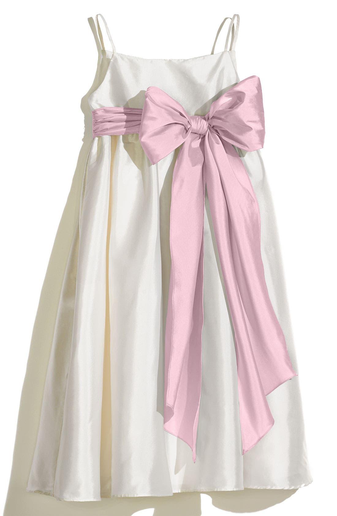 Us Angels A-Line Dress with Sash (Toddler Girls, Little Girls & Big Girls)