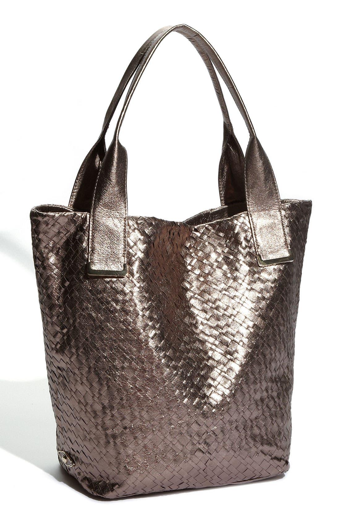 Main Image - Elliott Lucca 'Intreccio' Leather Tote, Large