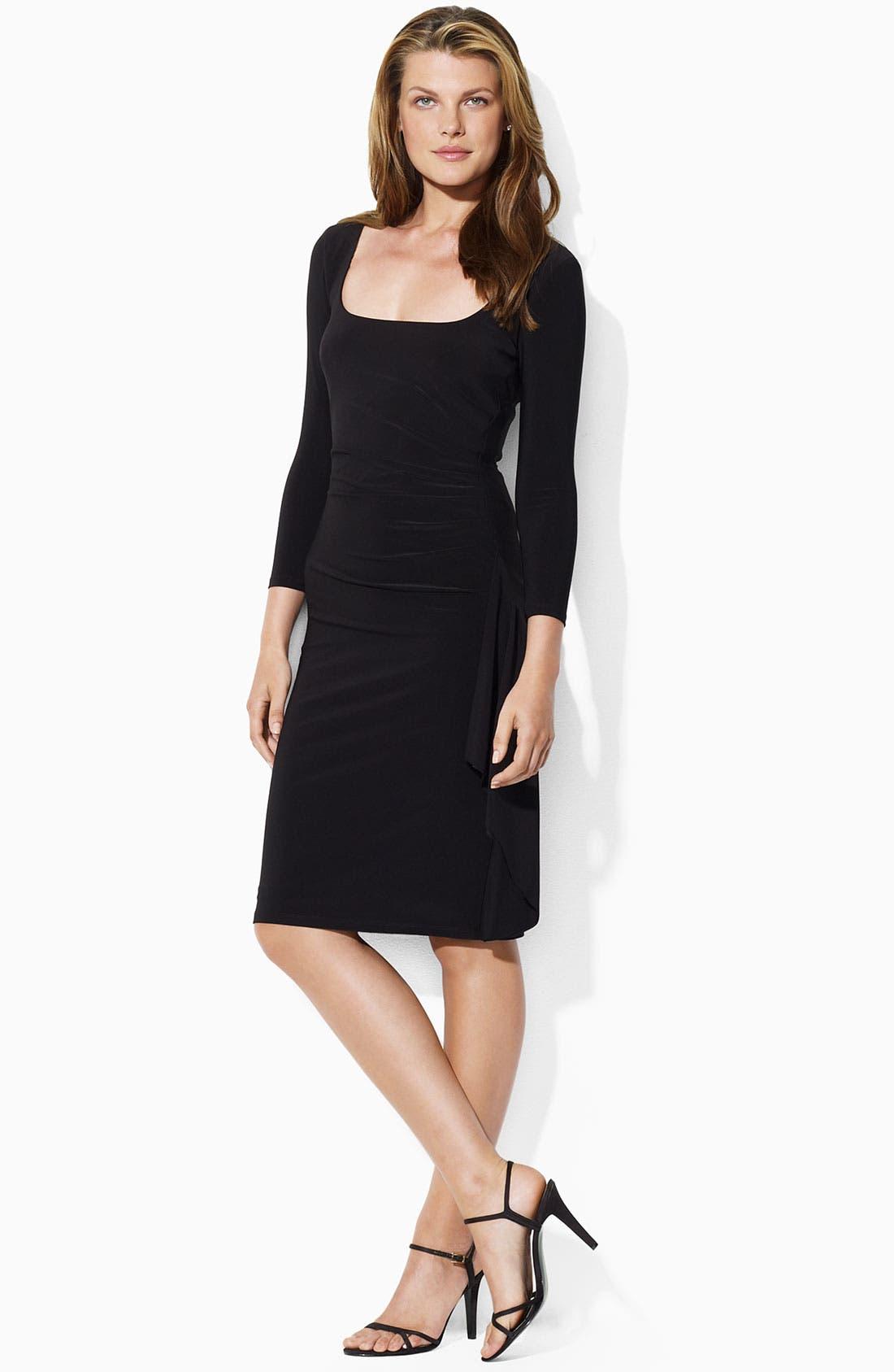 Alternate Image 1 Selected - Lauren by Ralph Lauren 'Lambert' Jersey Dress