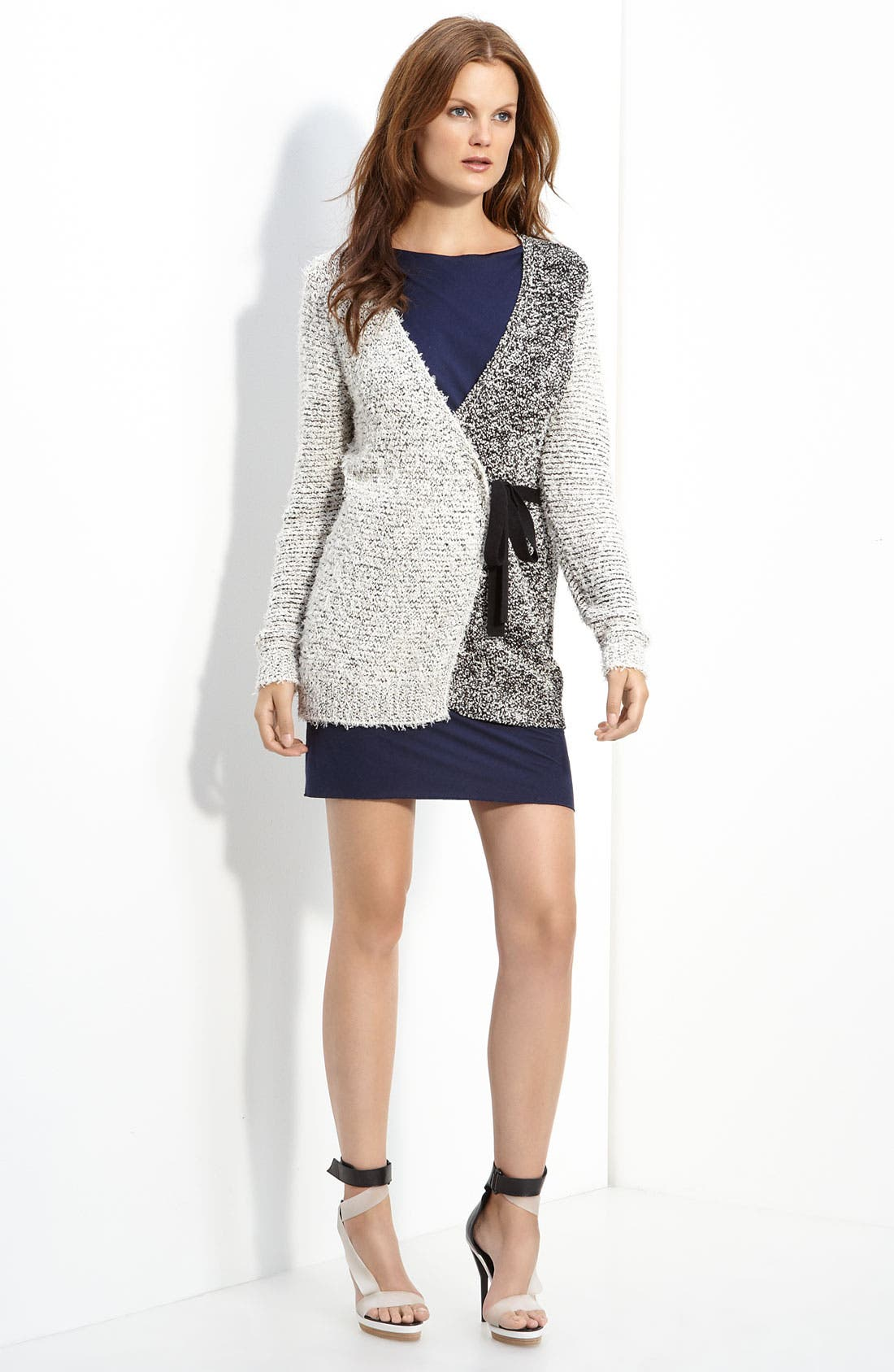 Alternate Image 1 Selected - 3.1 Phillip Lim Two Tone Wrap Cardigan