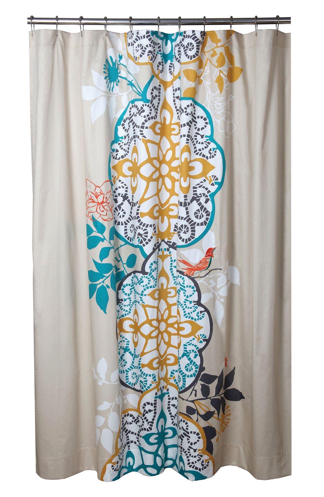 Alternate Image 1 Selected - Blissliving Home 'Shangri-La' Shower Curtain (Online Only)