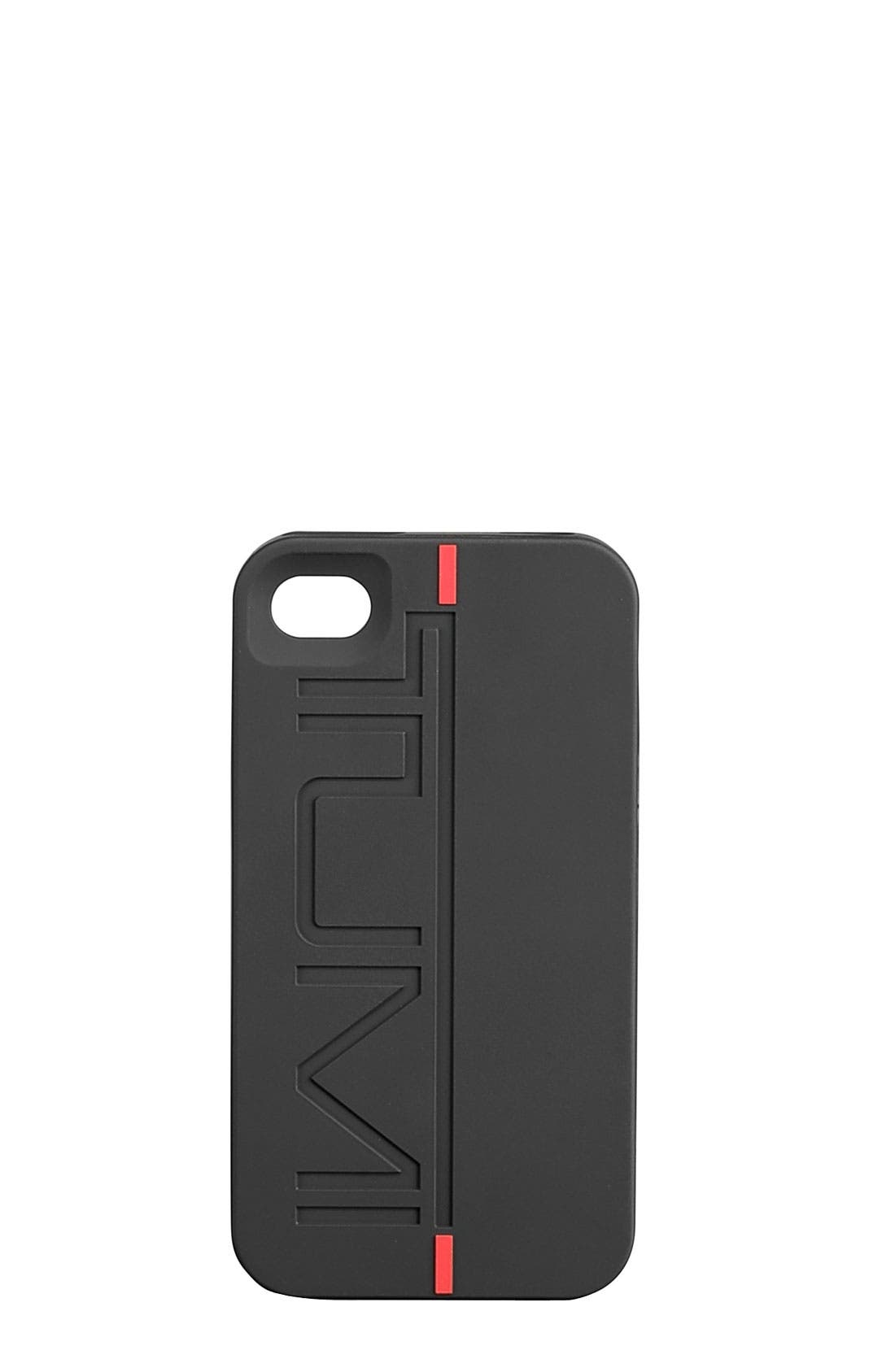 Alternate Image 1 Selected - Tumi Debossed iPhone 4 & 4S Cover