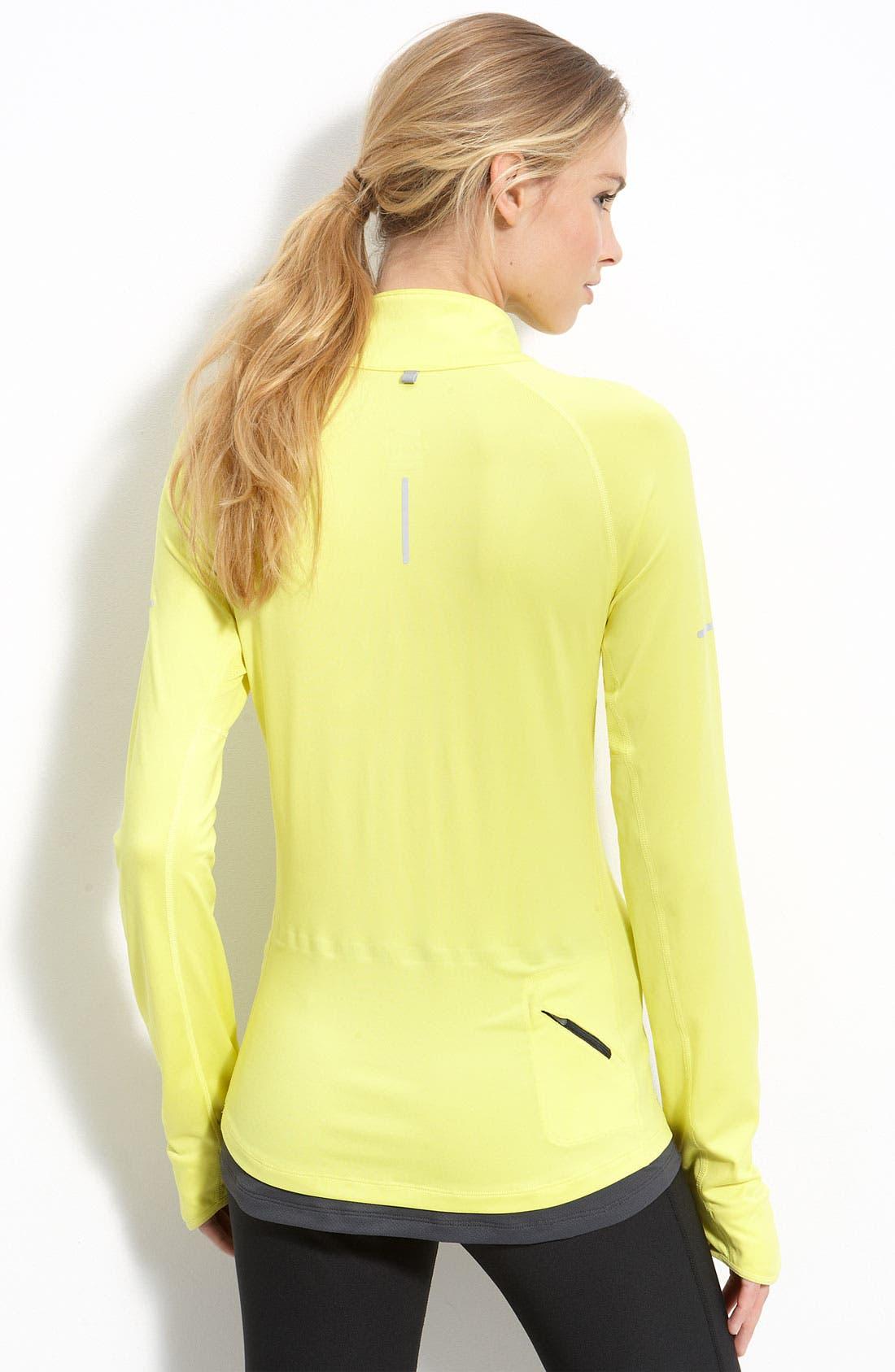 Alternate Image 2  - Nike 'Denier Differential' Half Zip Running Top