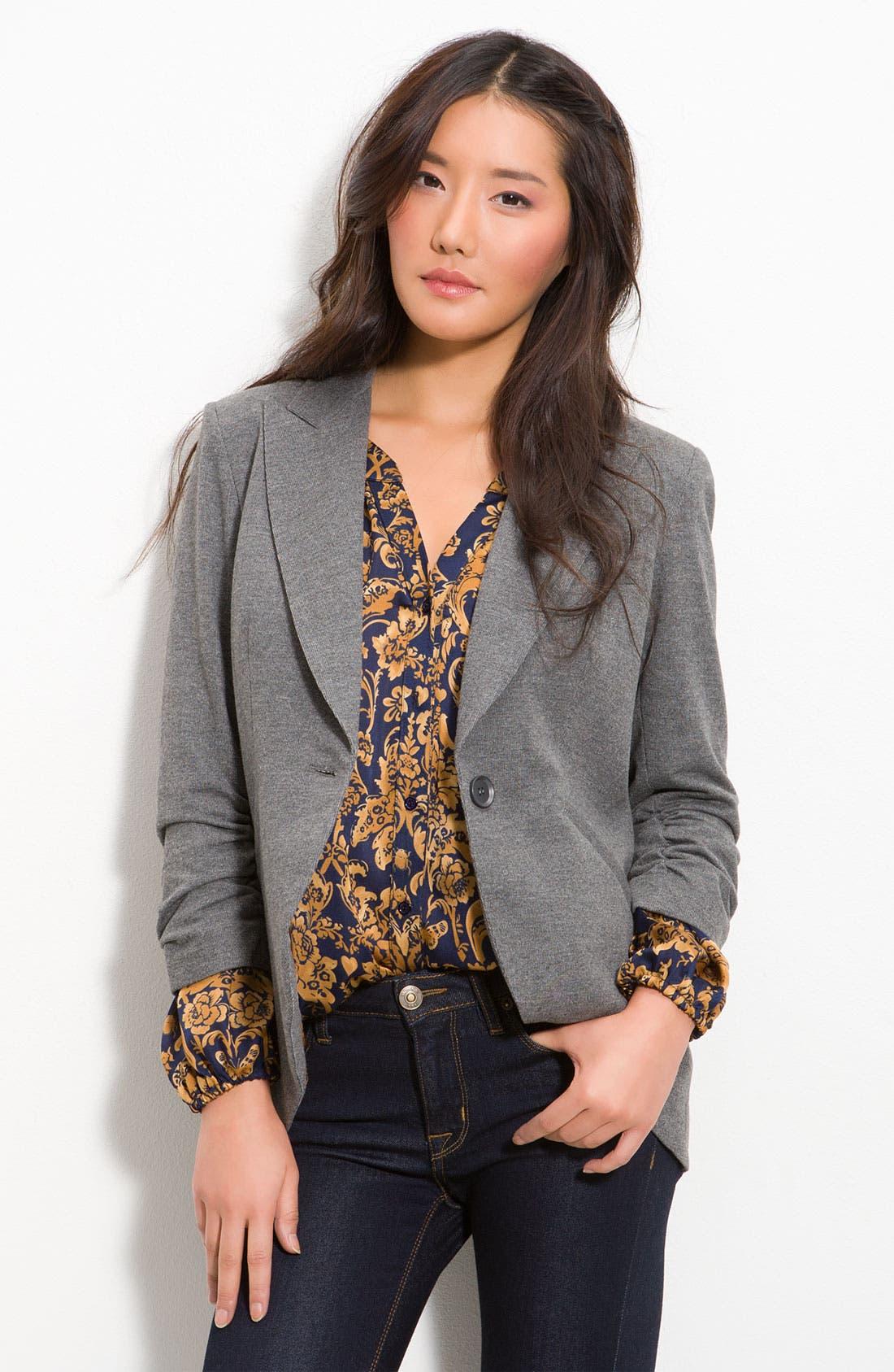 Main Image - Gibson Knit Riding Jacket